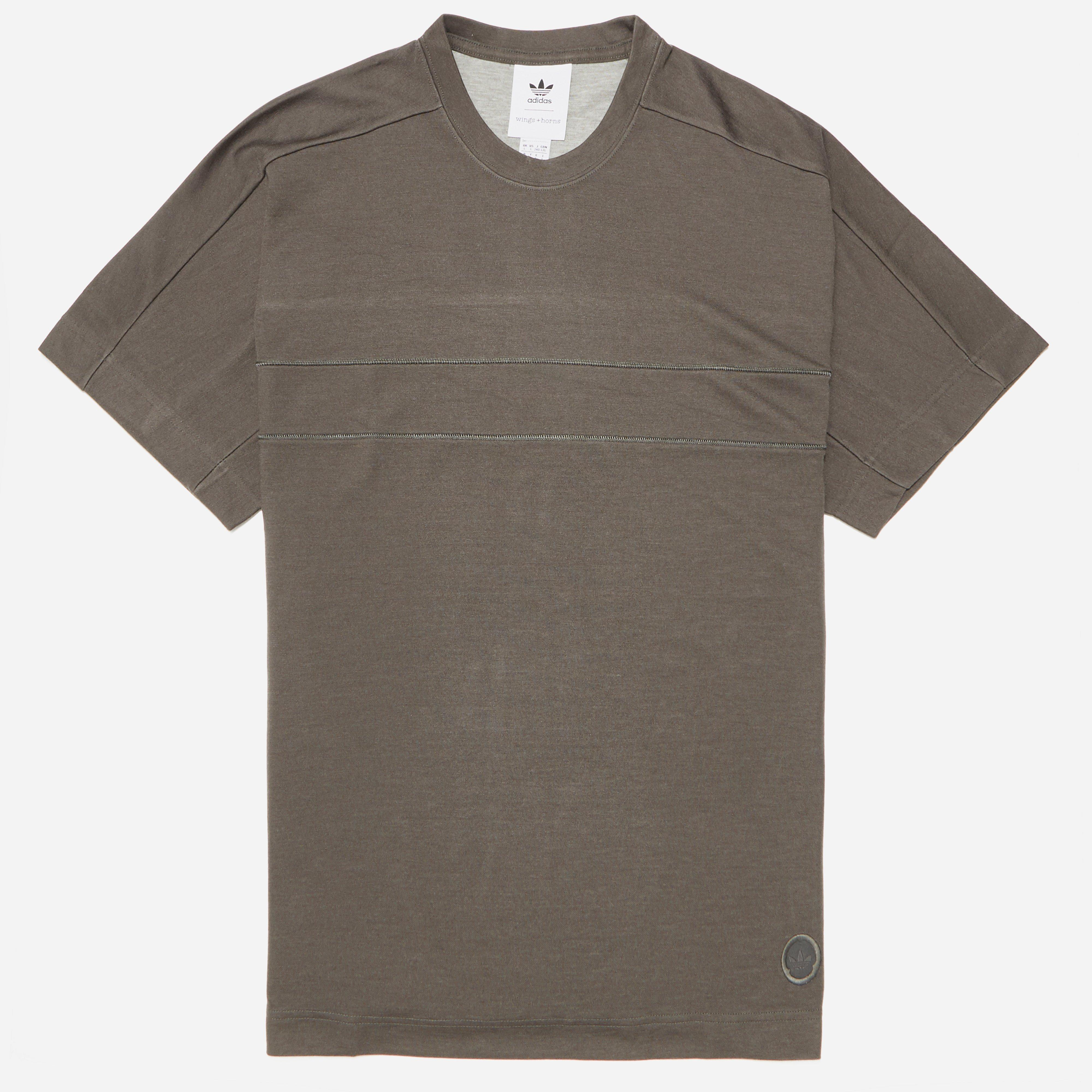 adidas Originals X Wings + Horns Short Sleeve T-shirt