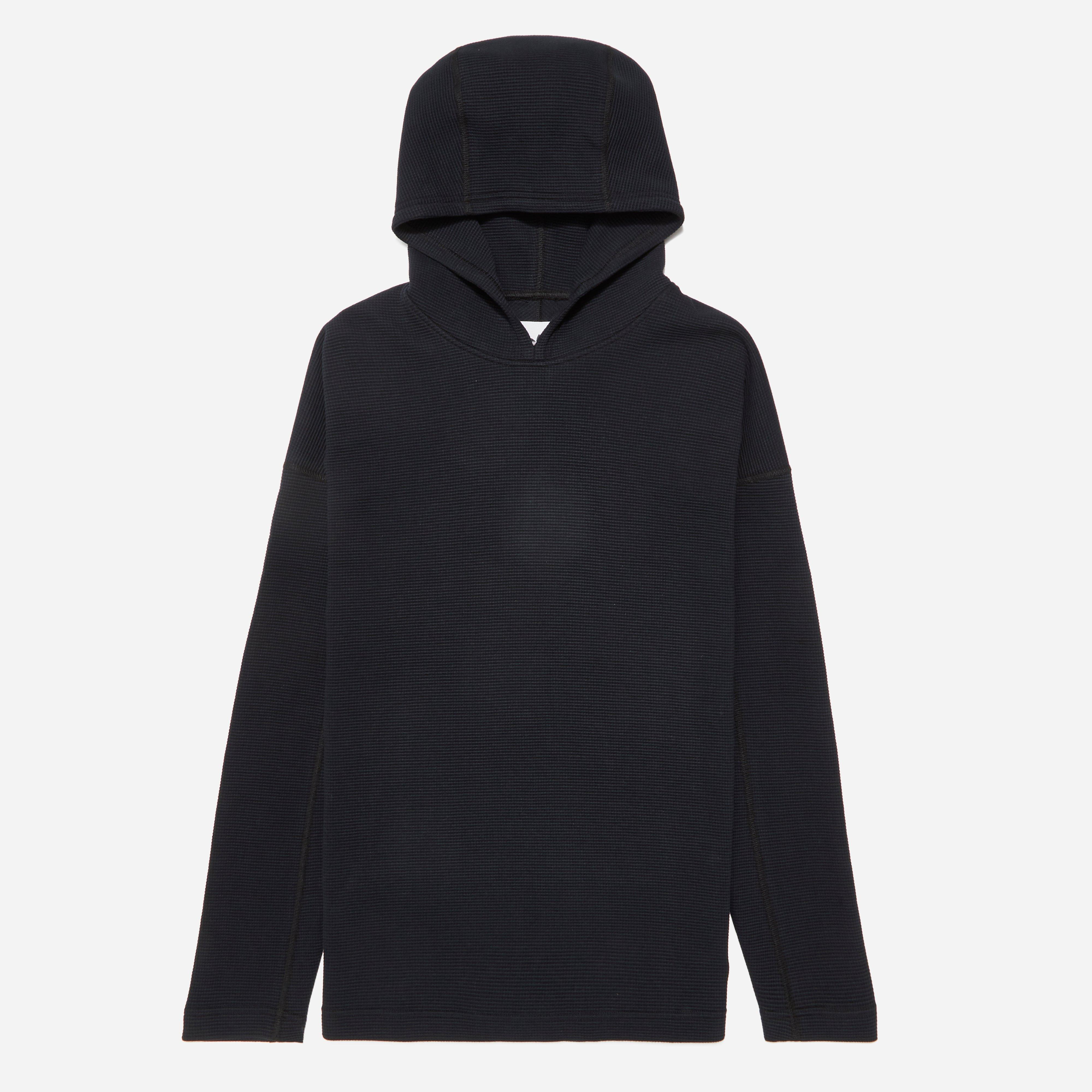 adidas Originals X Wings + Horns Double Waffle Knit Hoodie