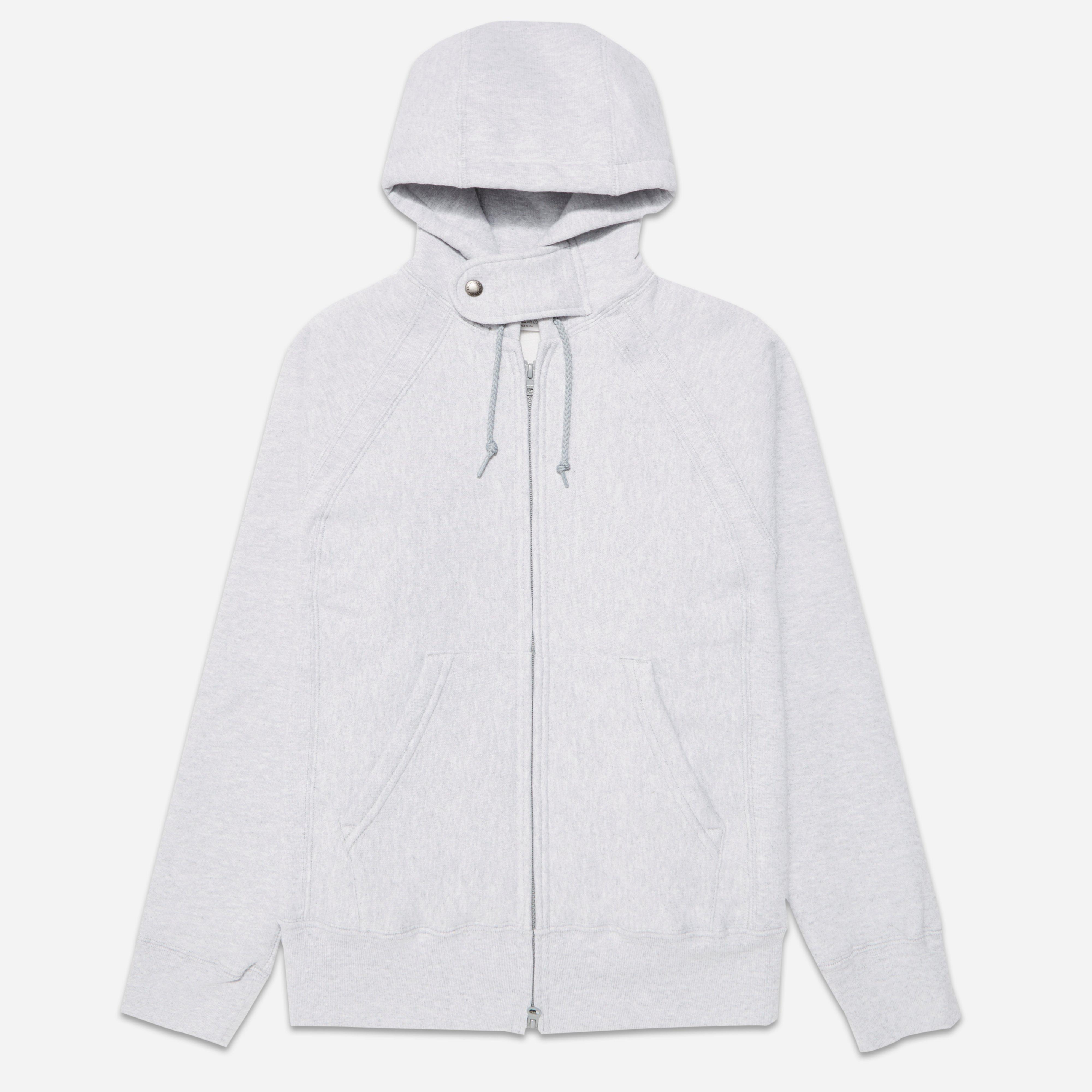 Engineered Garments Workaday Fleece Raglan Zip Hoodie