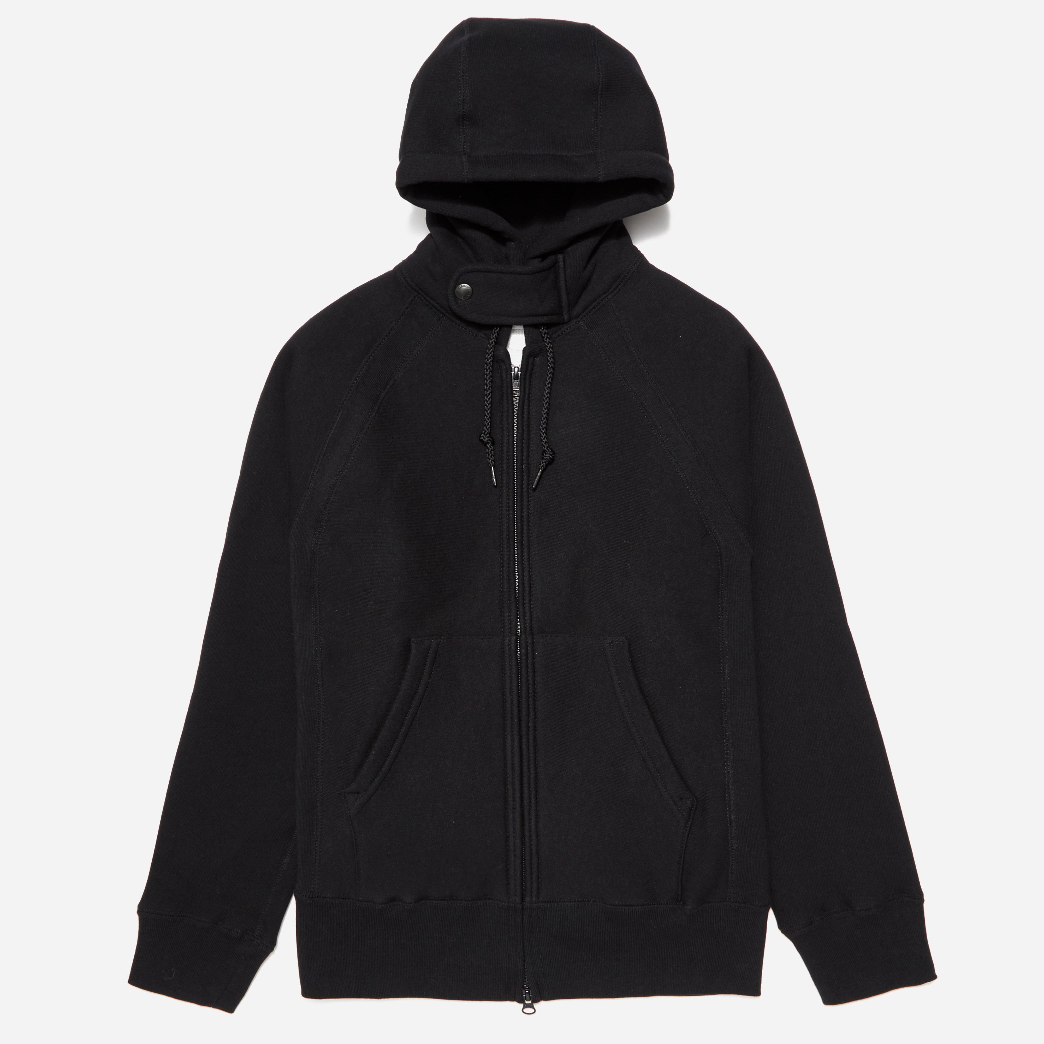 Engineered Garments Workaday Fleece Raglan Zip Hoodie