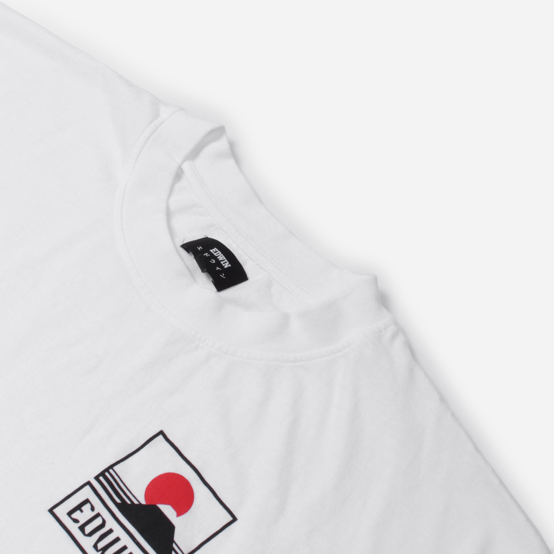 Edwin Sunset On Mt Fuji T-shirt