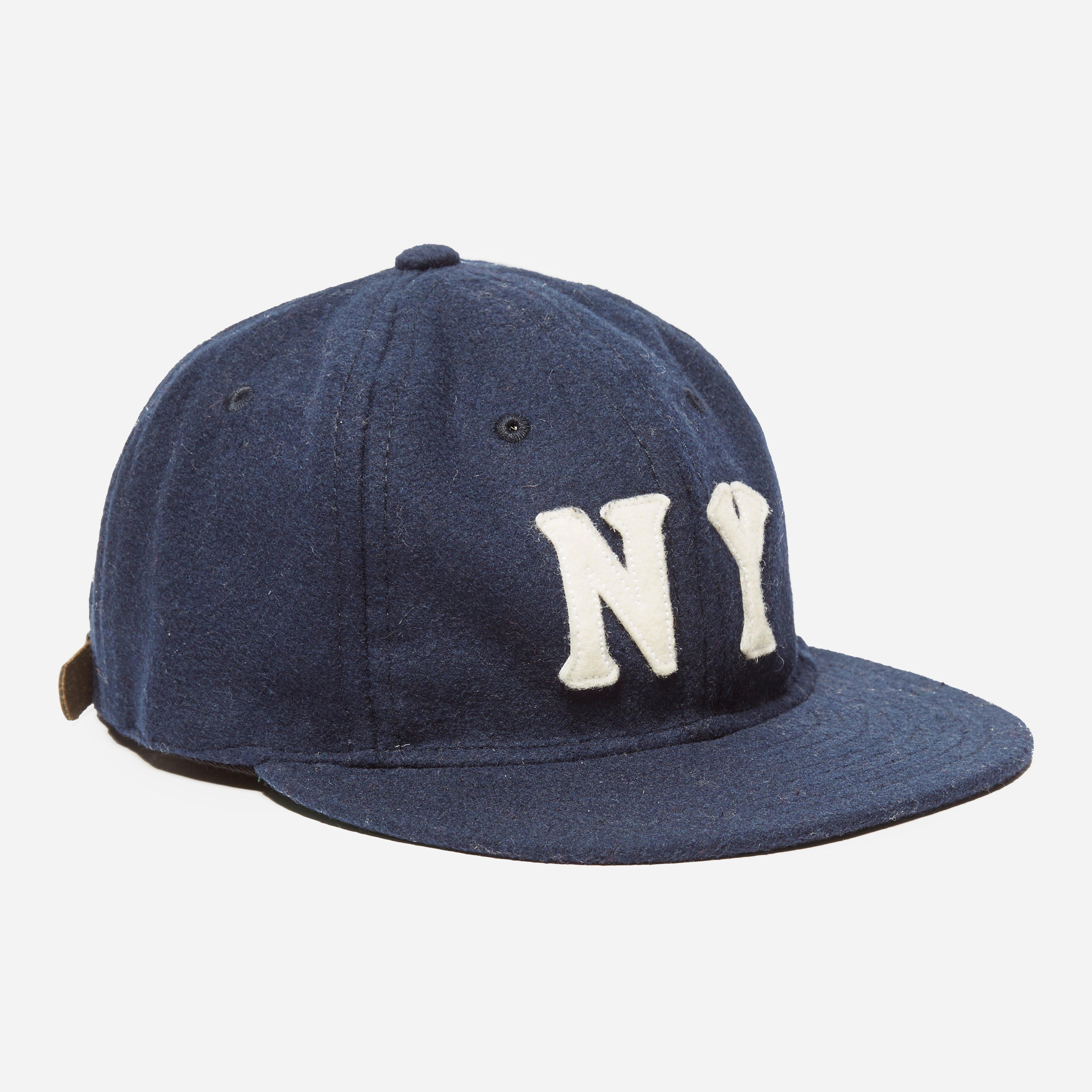 Ebbets New York Black Yankees 1936 Cap Navy Wool