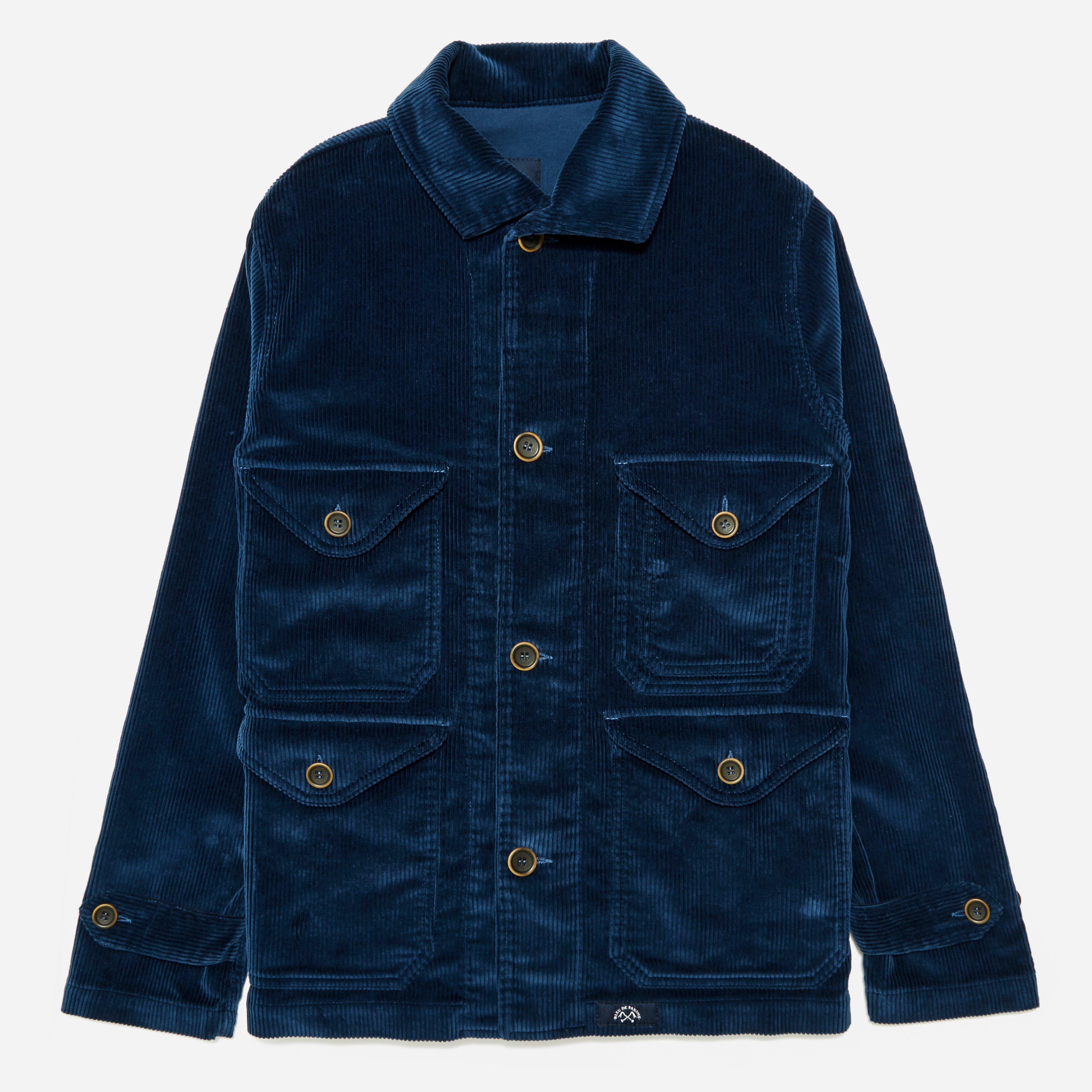 Bleu De Paname Corduroy Hunting Jacket