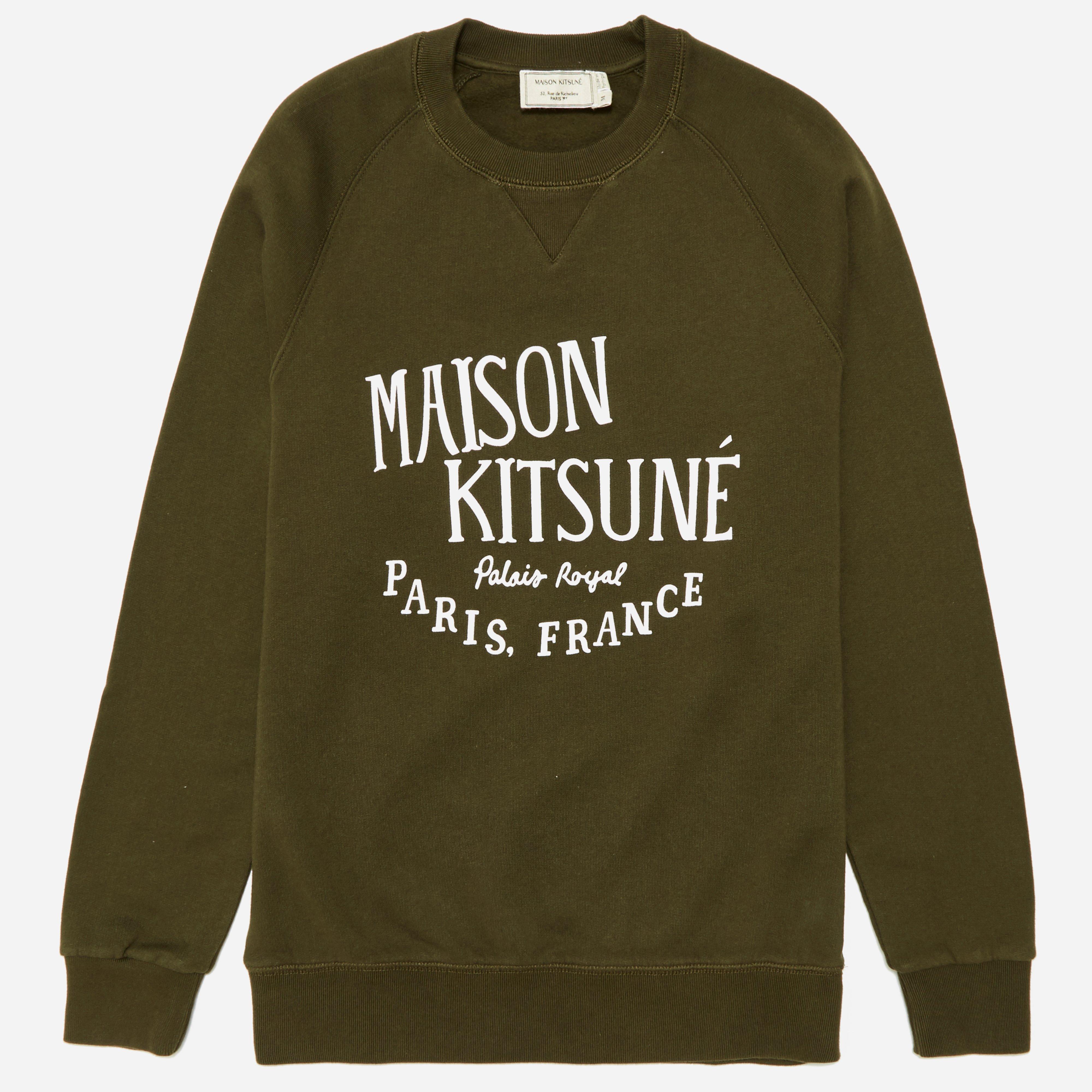 Maison Kitsune Palais Royal Sweatshirt