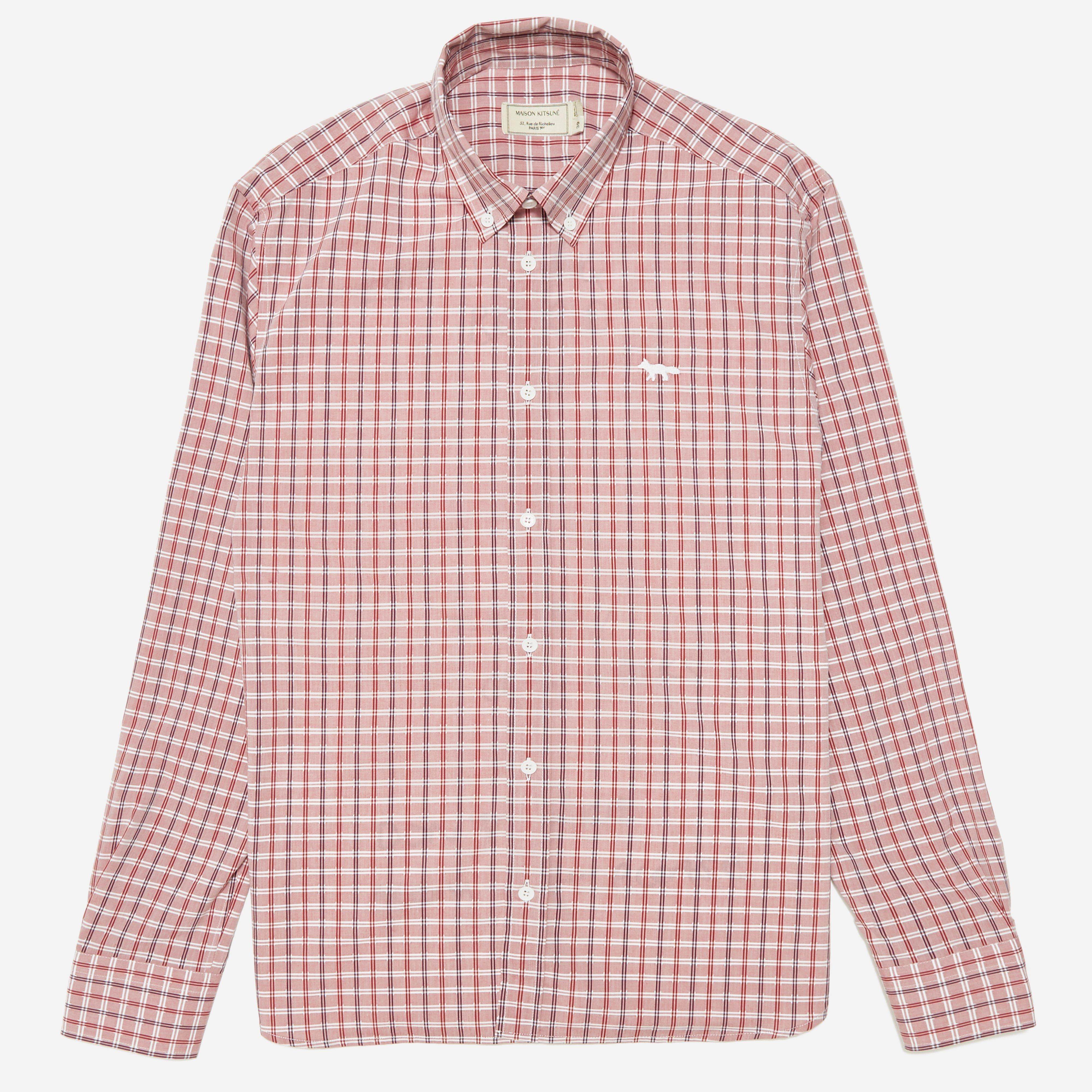 Maison Kitsune Classic Button Down Check Shirt