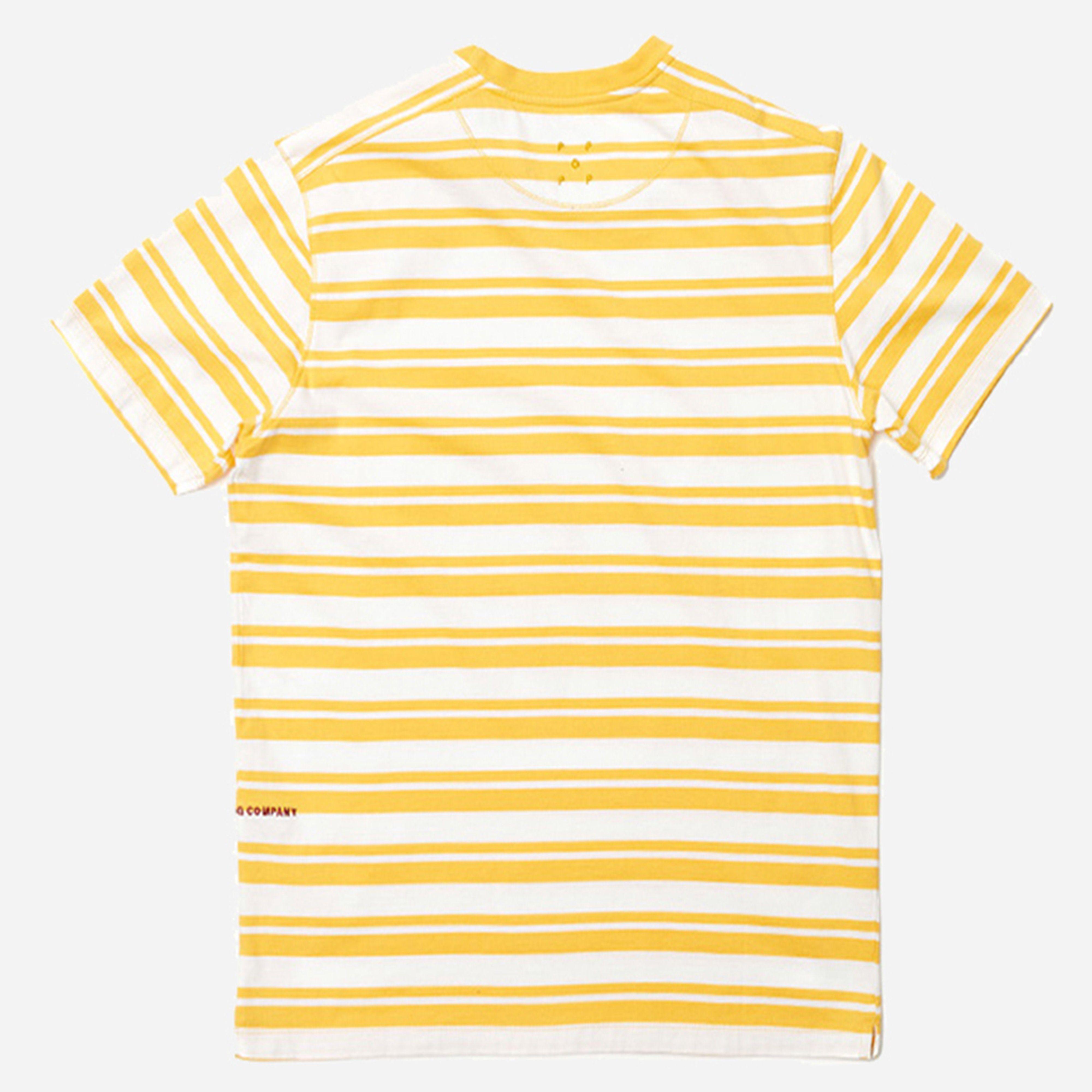 Pop Trading Company Striped Pocket T Shirt