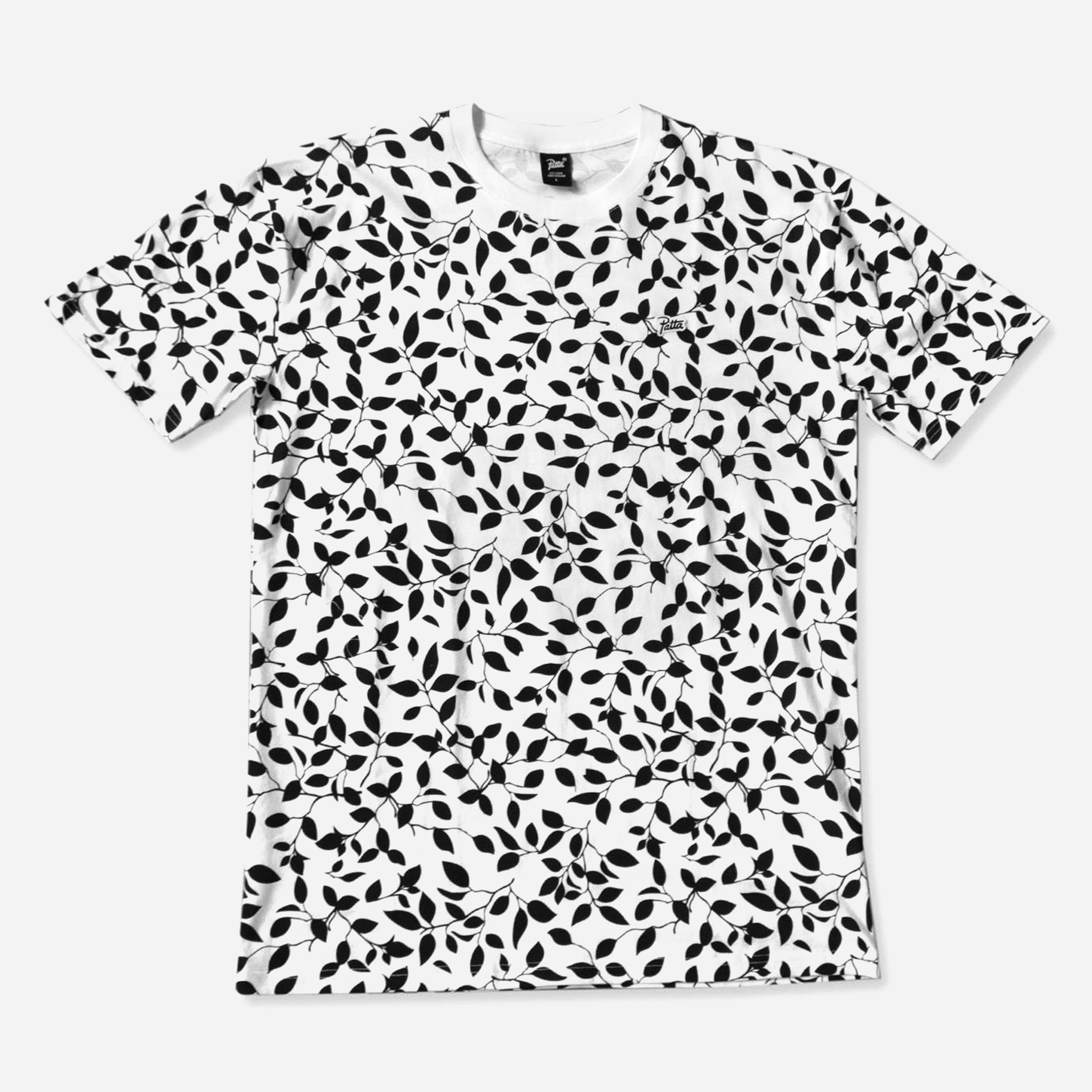 Patta Leaf Life Allover T-shirt