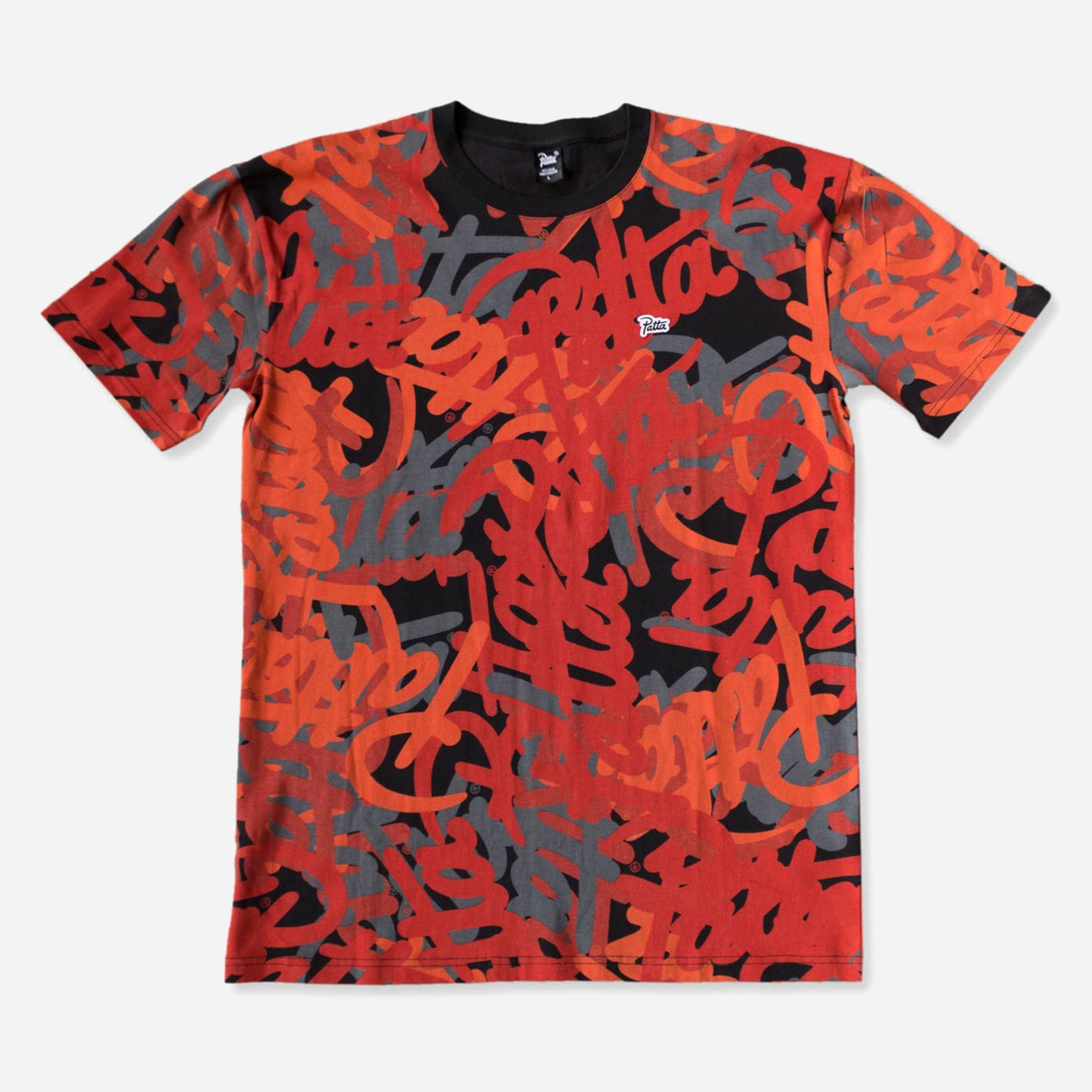 Patta Script Logo Allover T-shirt