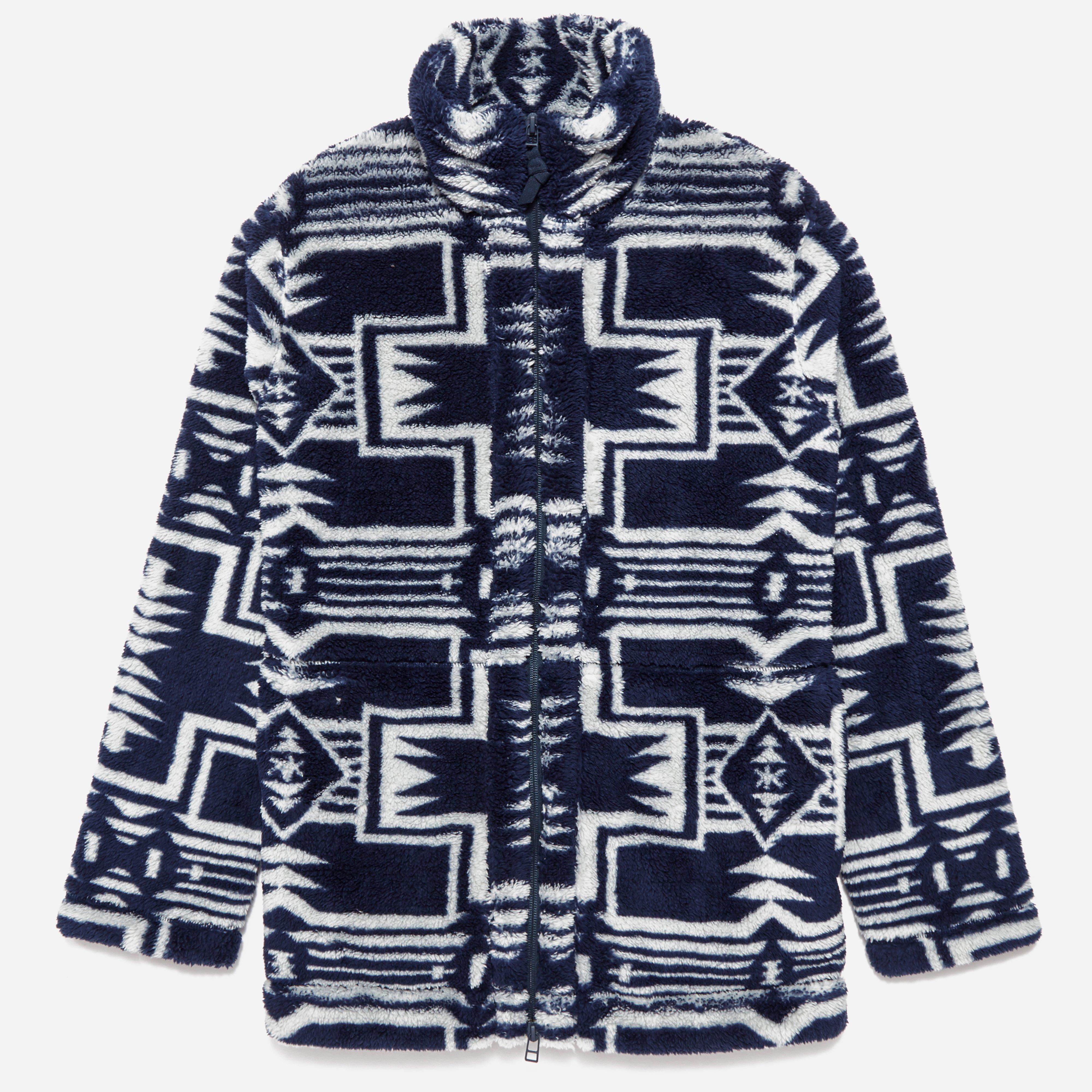 Snow Peak Printed Fleece Jacket