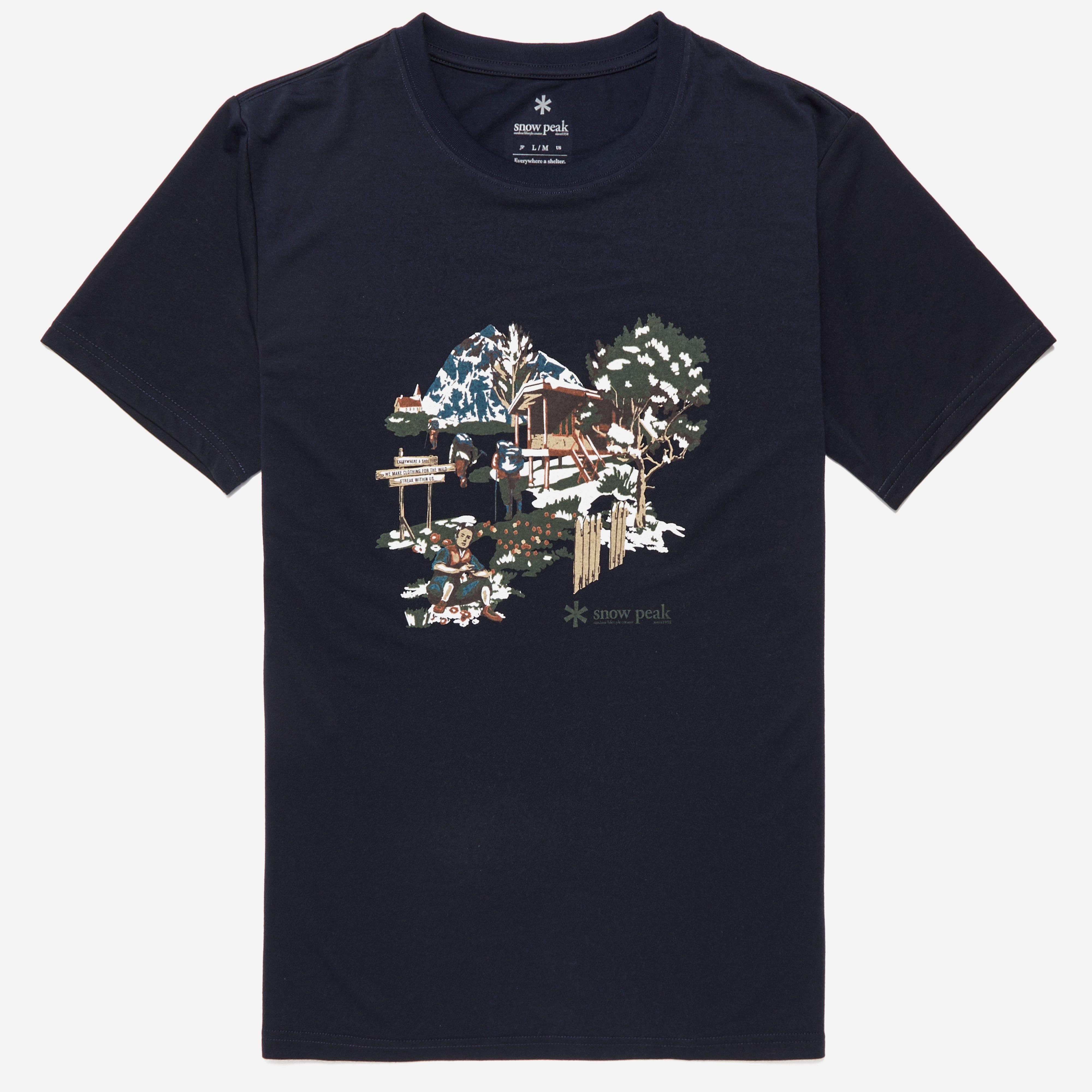 Snow Peak Campfield T-shirt