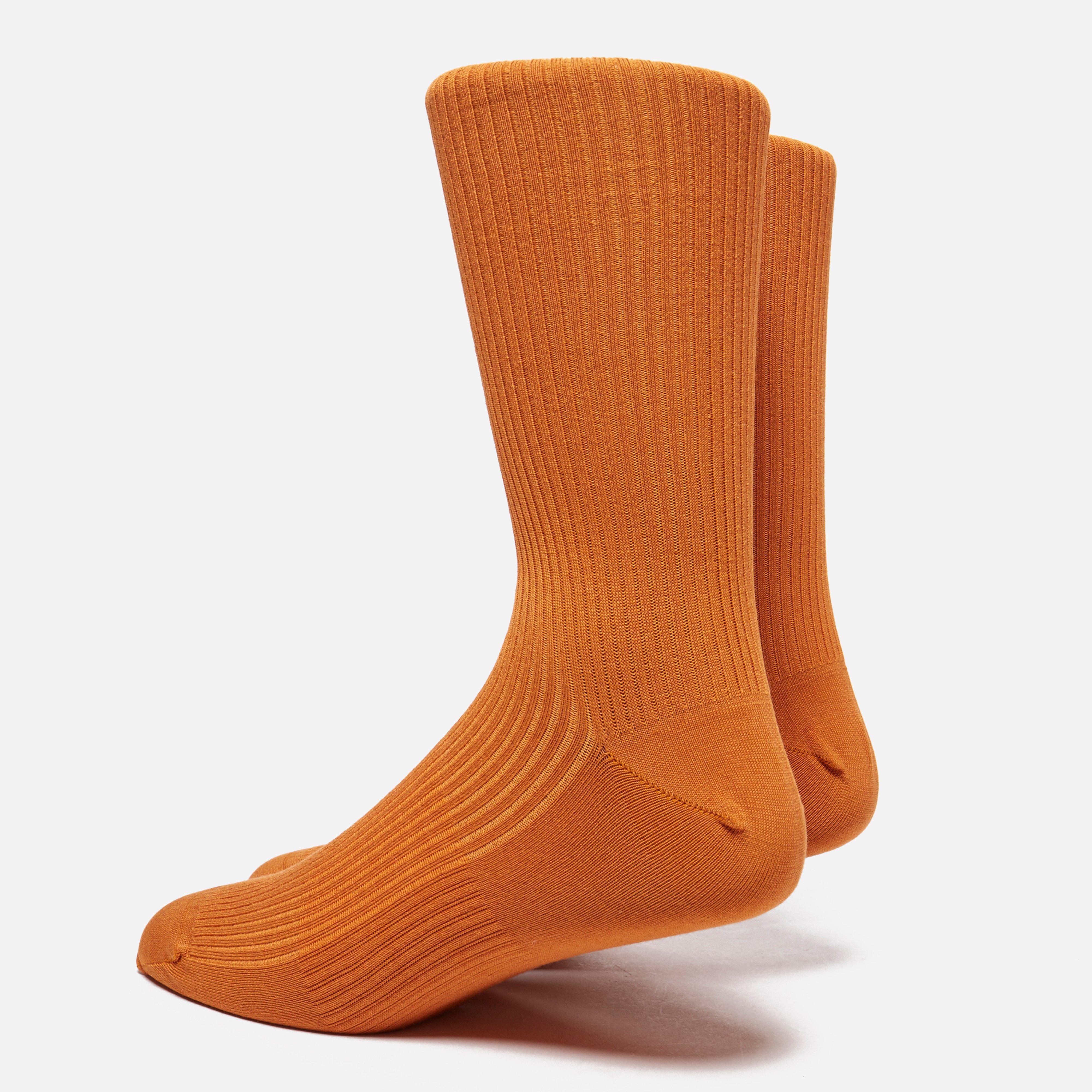 Norse Projects Bjarki Mercerized Rib Socks