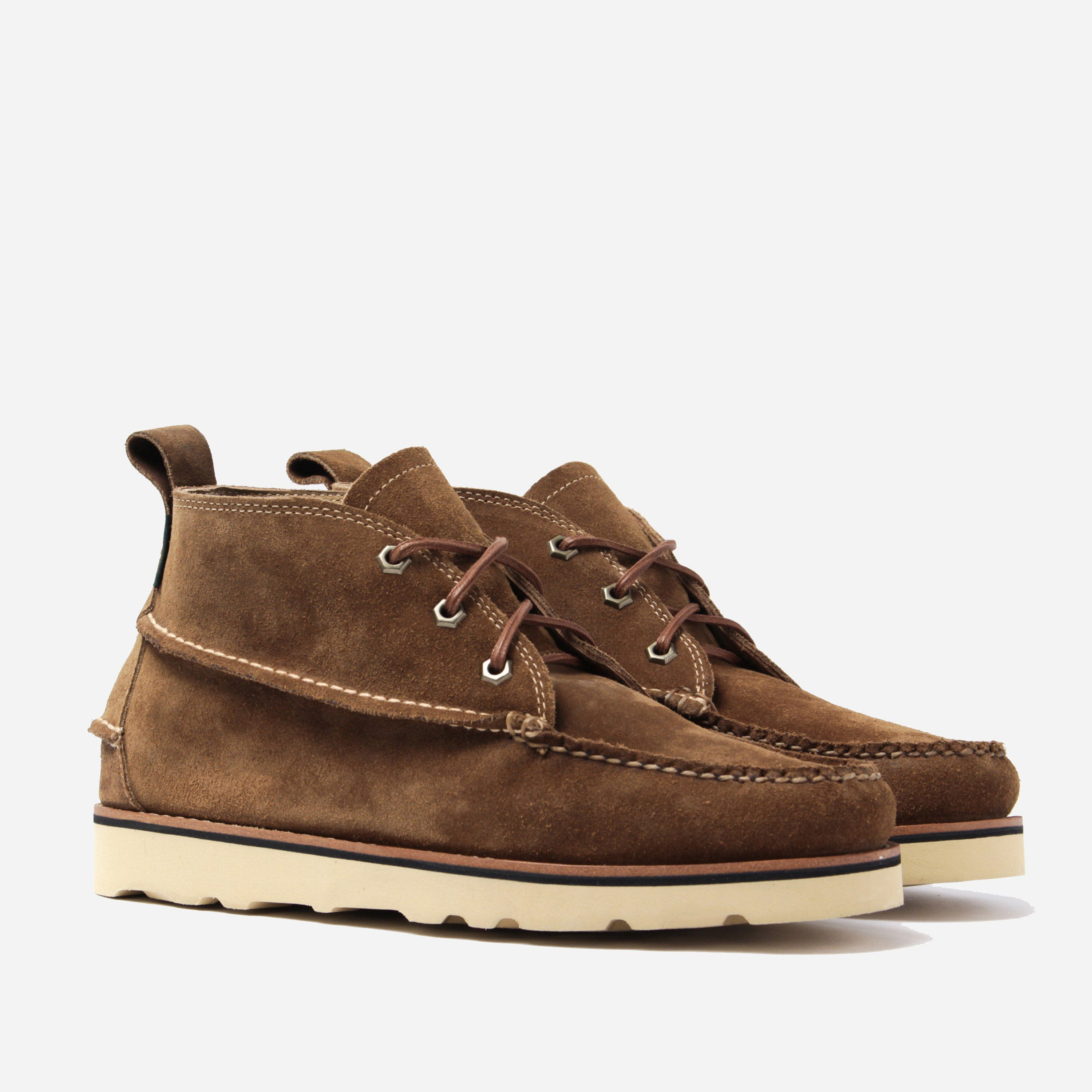 G.H. Bass & Co. Ranger Wedge Mid Boot Suede - Mid Brown