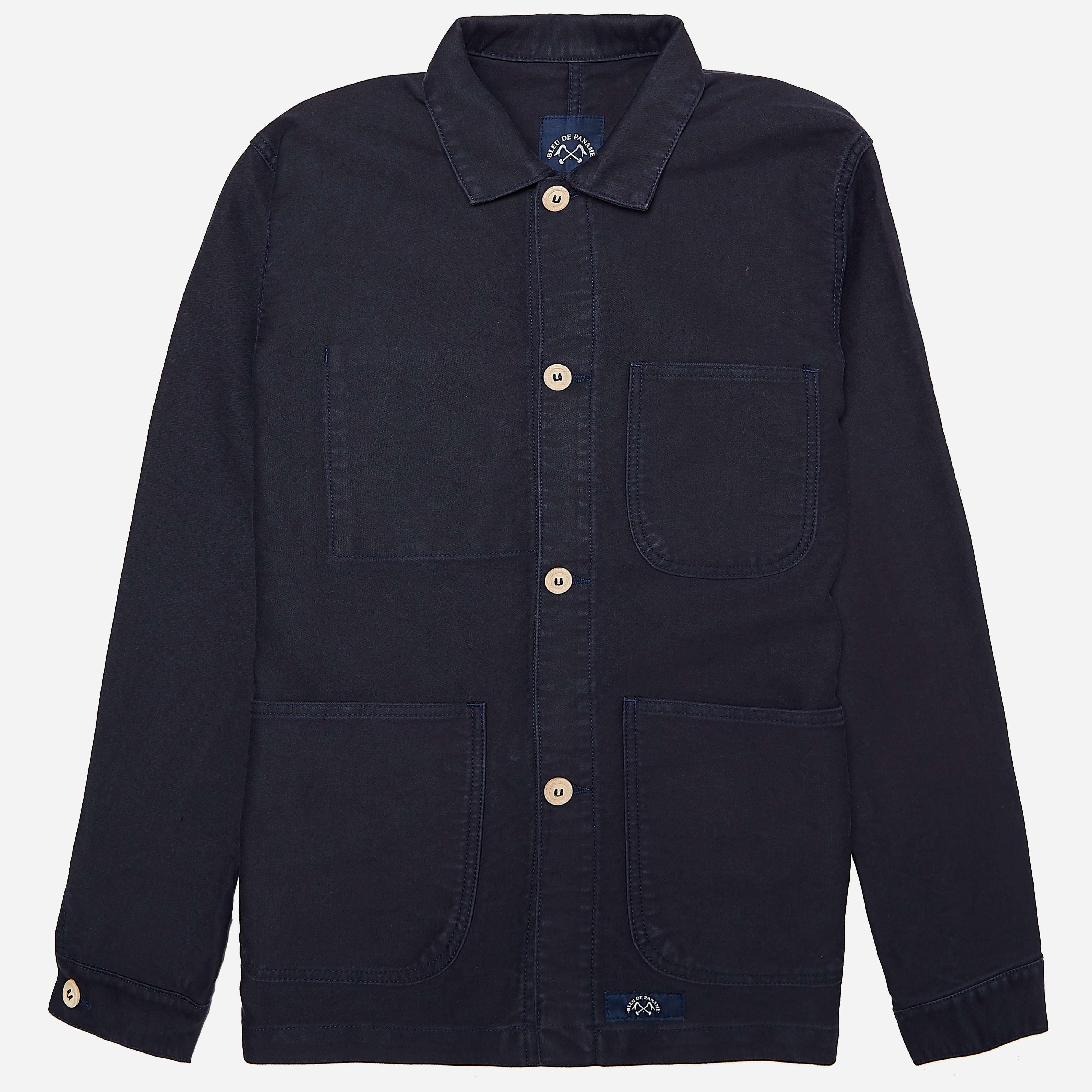 Bleu De Paname Veste De Comp Jacket