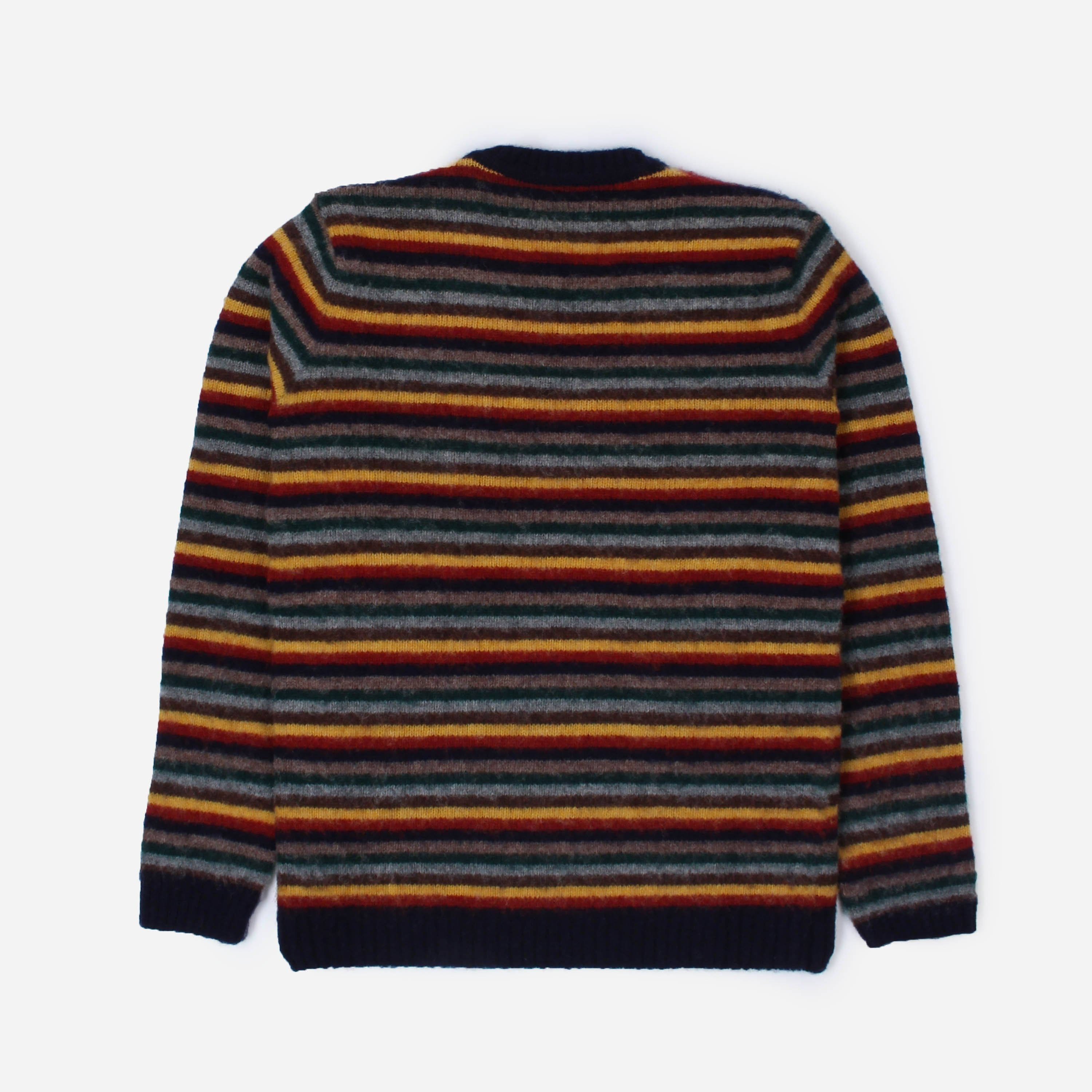 Norse Projects Sigfred Brushed Stripe
