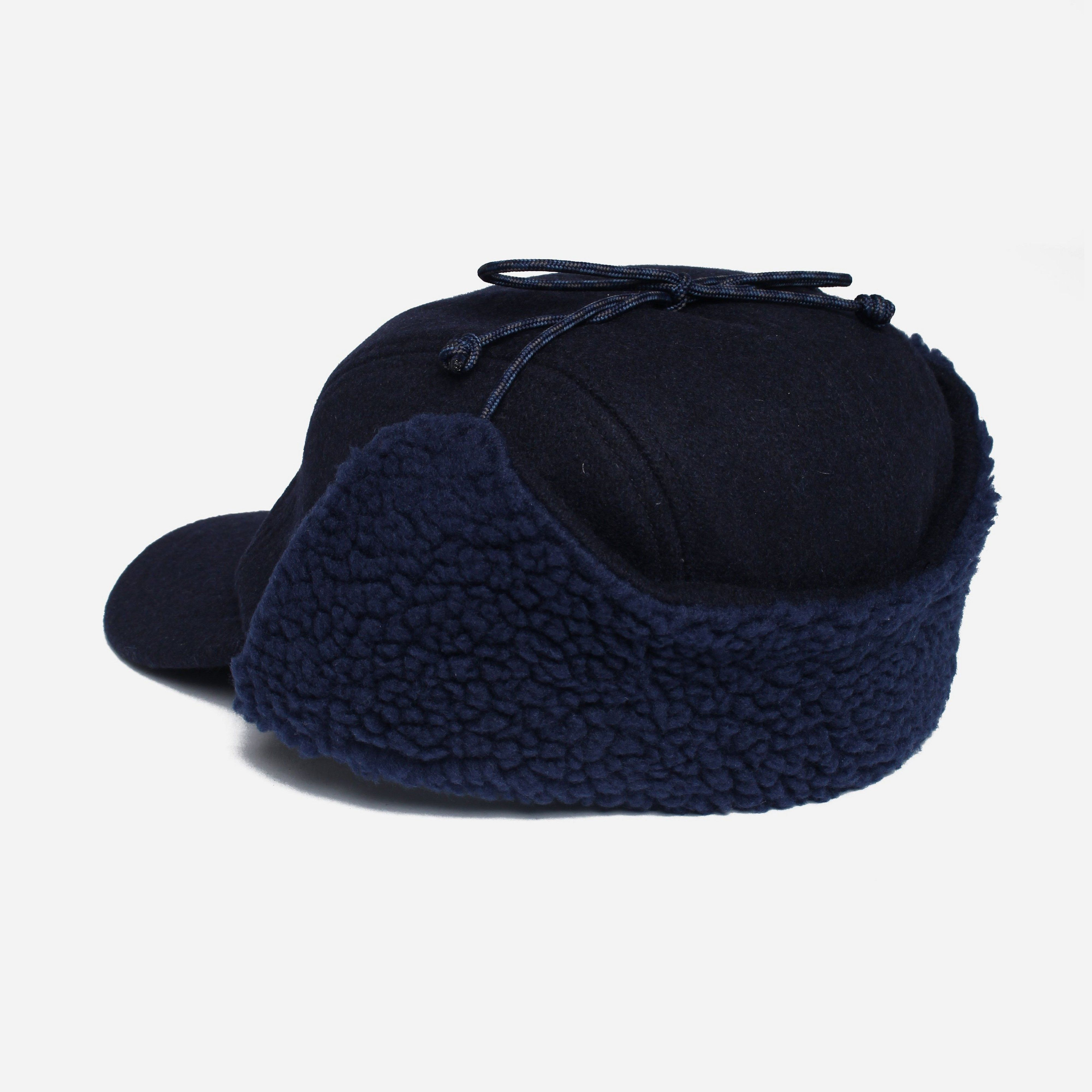 Patagonia Recycled Wool Ear Flat Cap