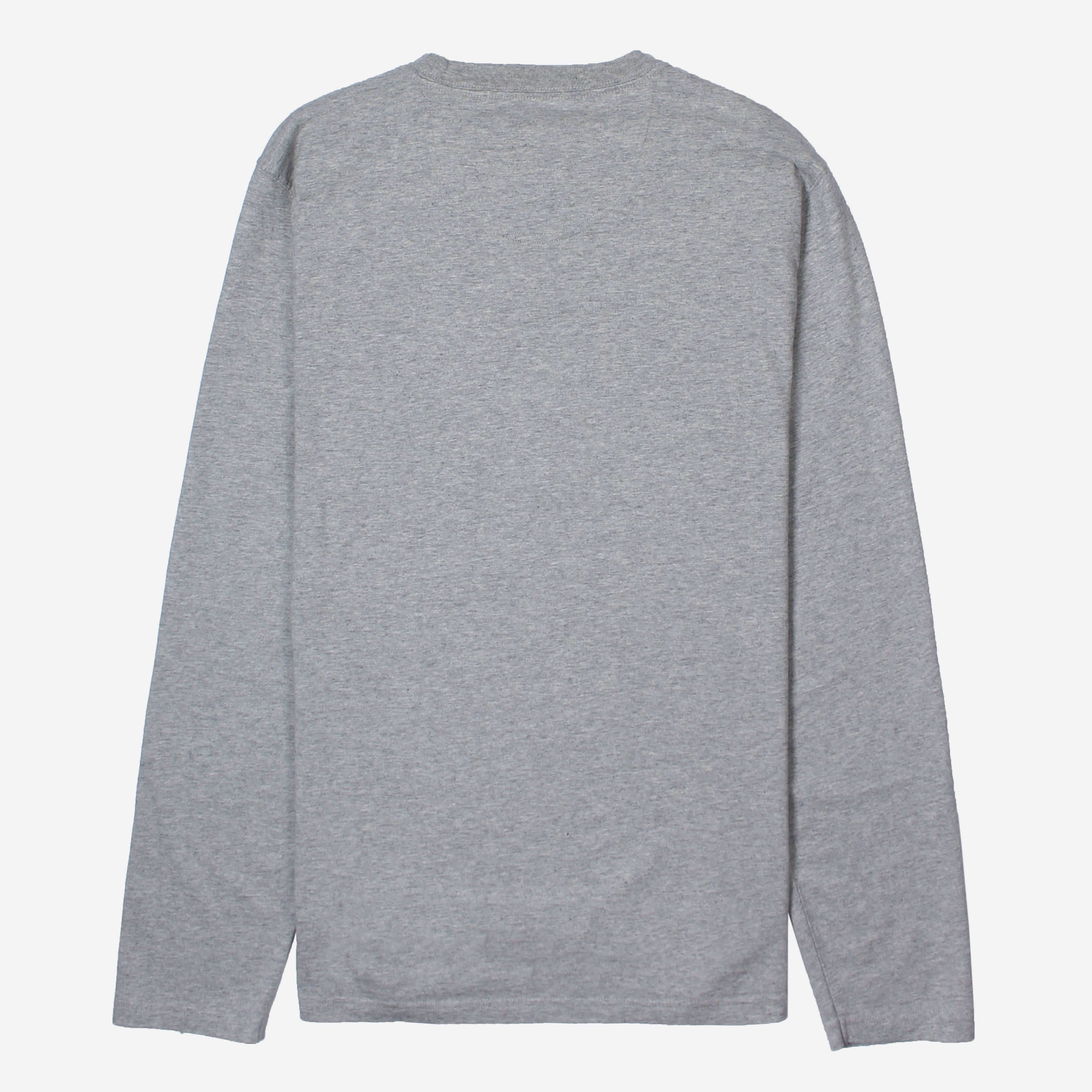 Barbour Beacon Long Sleeve Logo T-Shirt