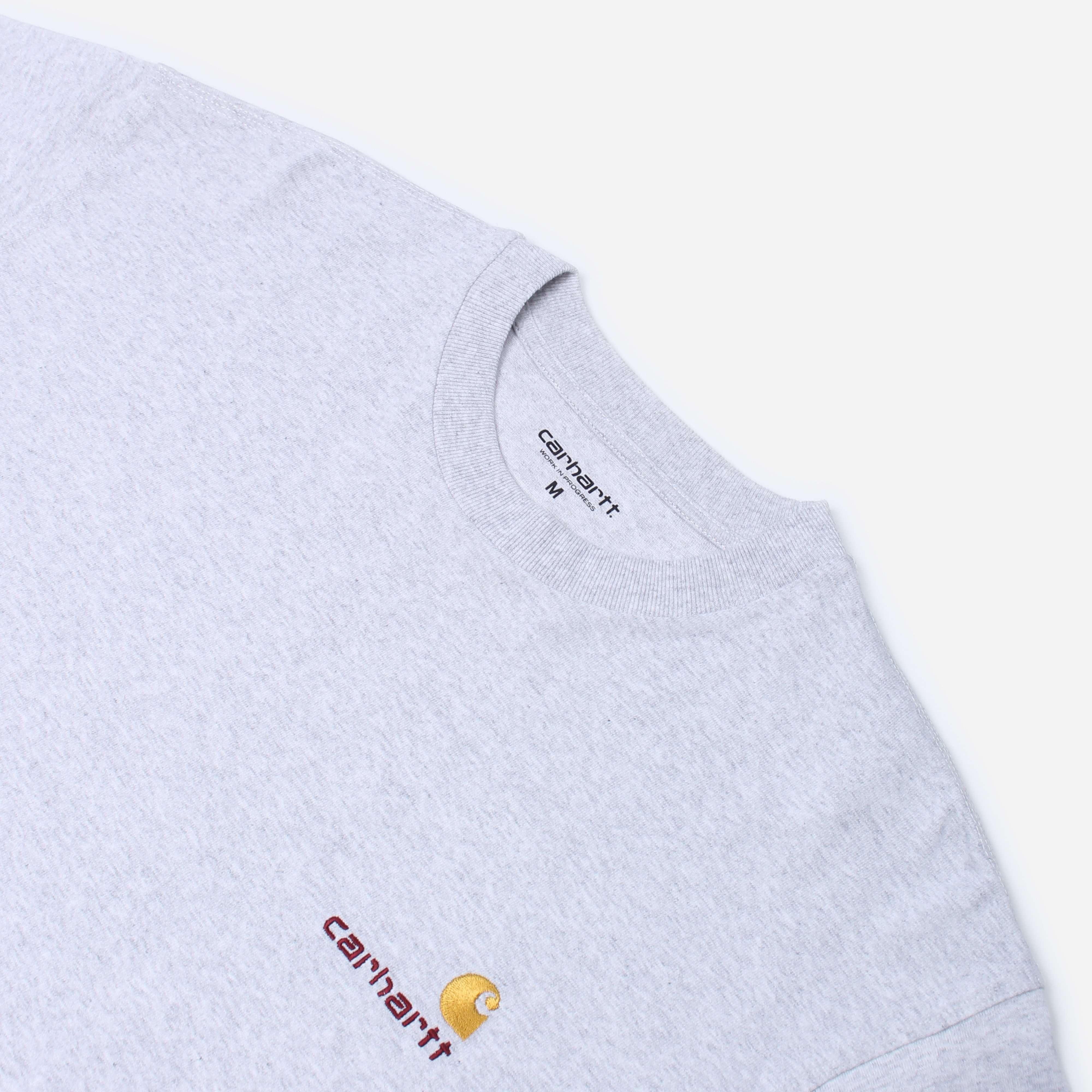 Carhartt WIP American Script Logo LS T-Shirt