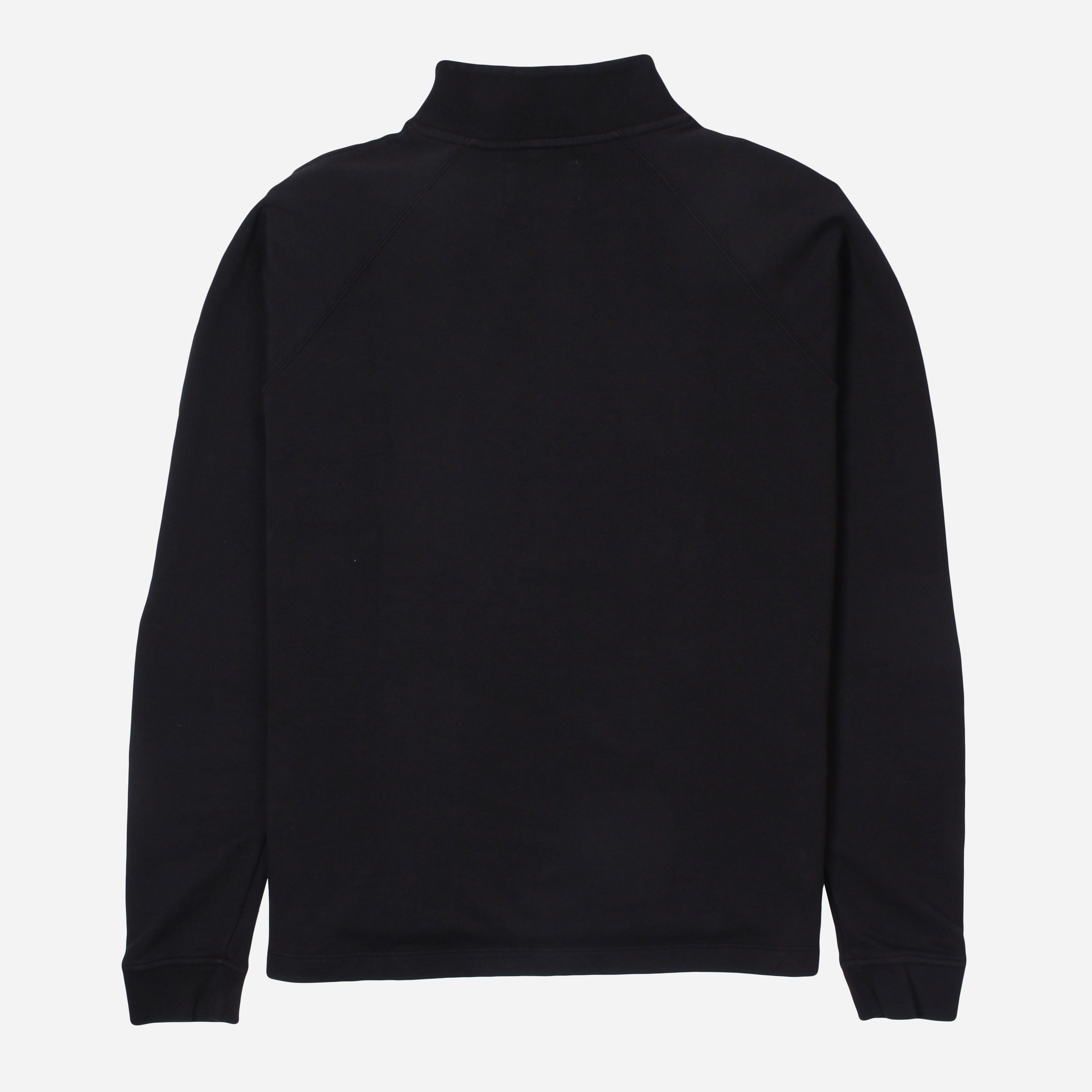 Folk Rivet Funnel Neck Sweatshirt