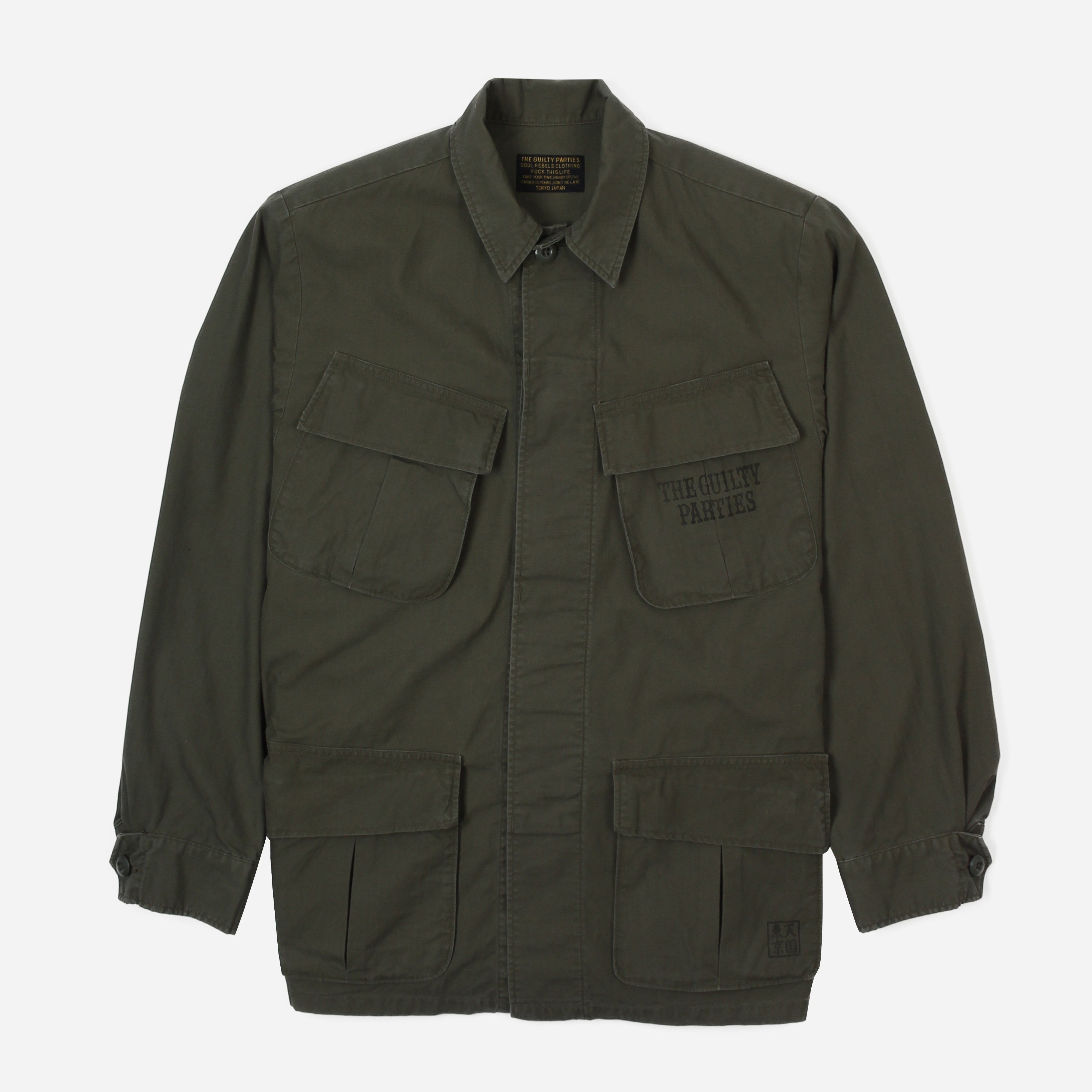 Wacko Maria Fatigue Jacket Type 3