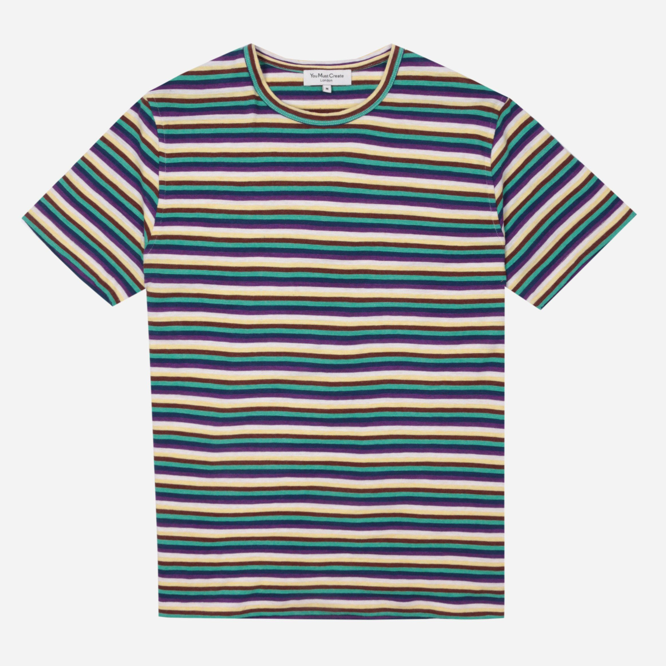 YMC Wild Ones Stripe T-Shirt