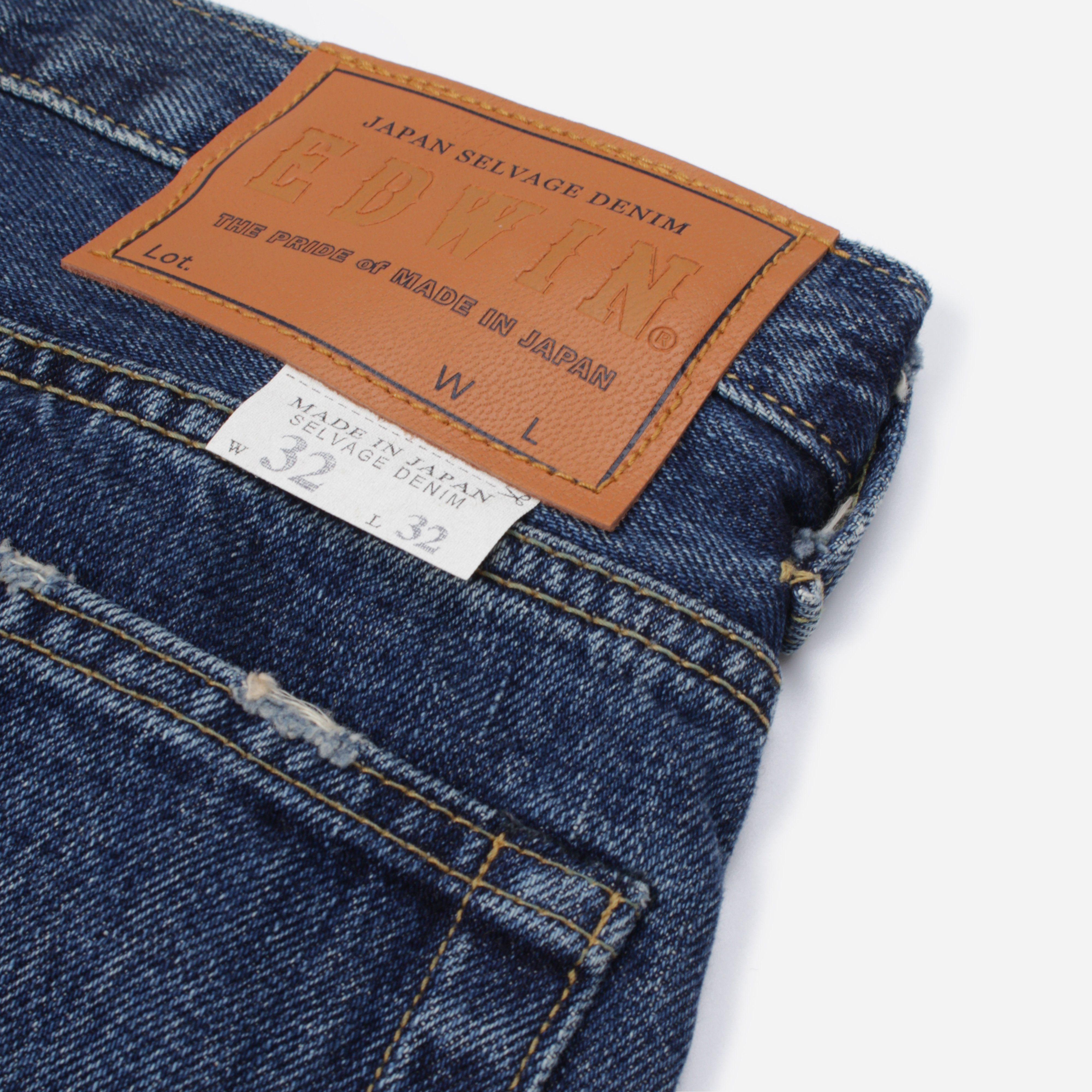 Edwin ED-55 Regular Tapered Jeans