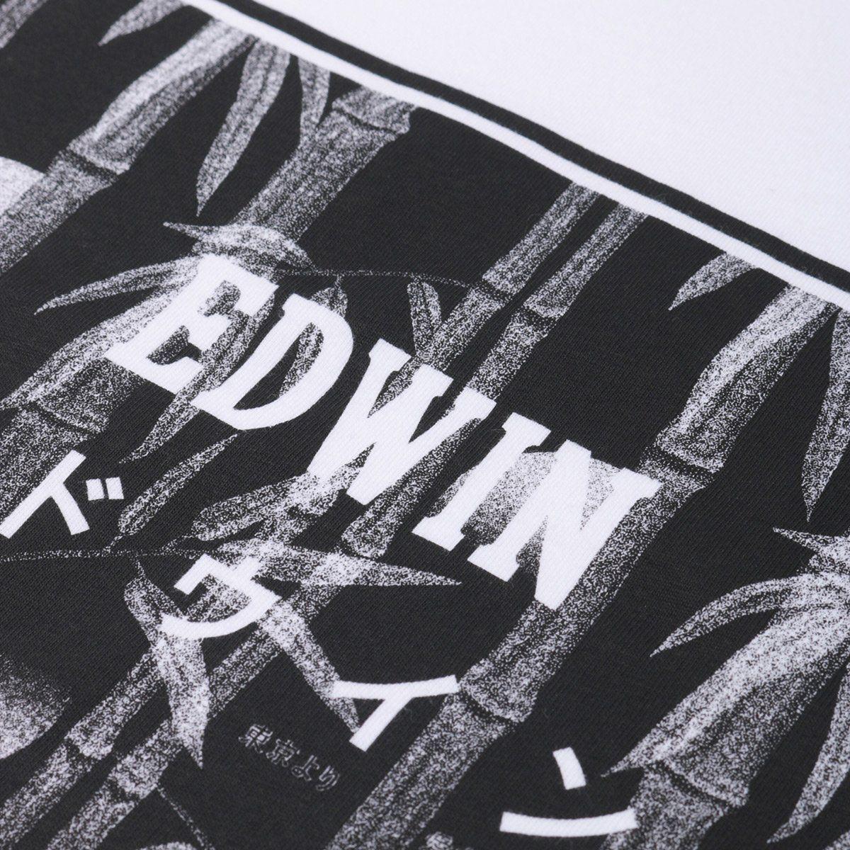 Edwin Bamboo Logo T-Shirt