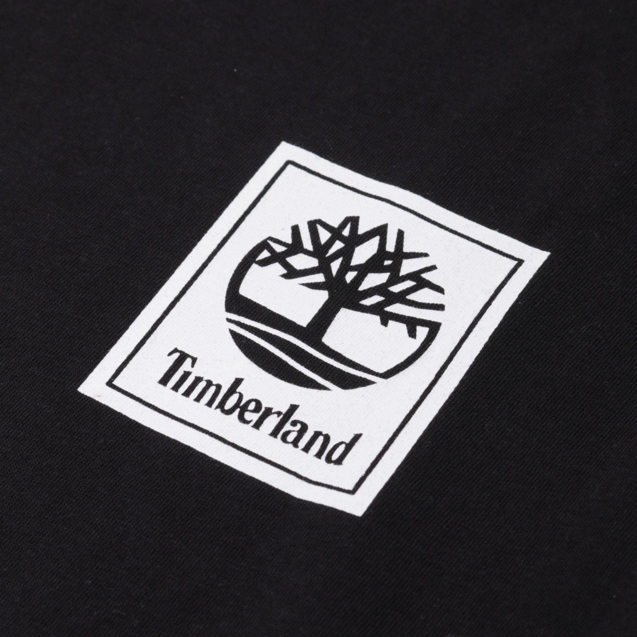Timberland Stacked Logo LS T-Shirt