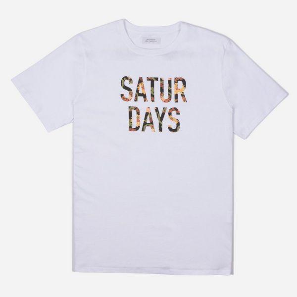 Saturdays NYC Peony Fill T-Shirt  64969862c2f