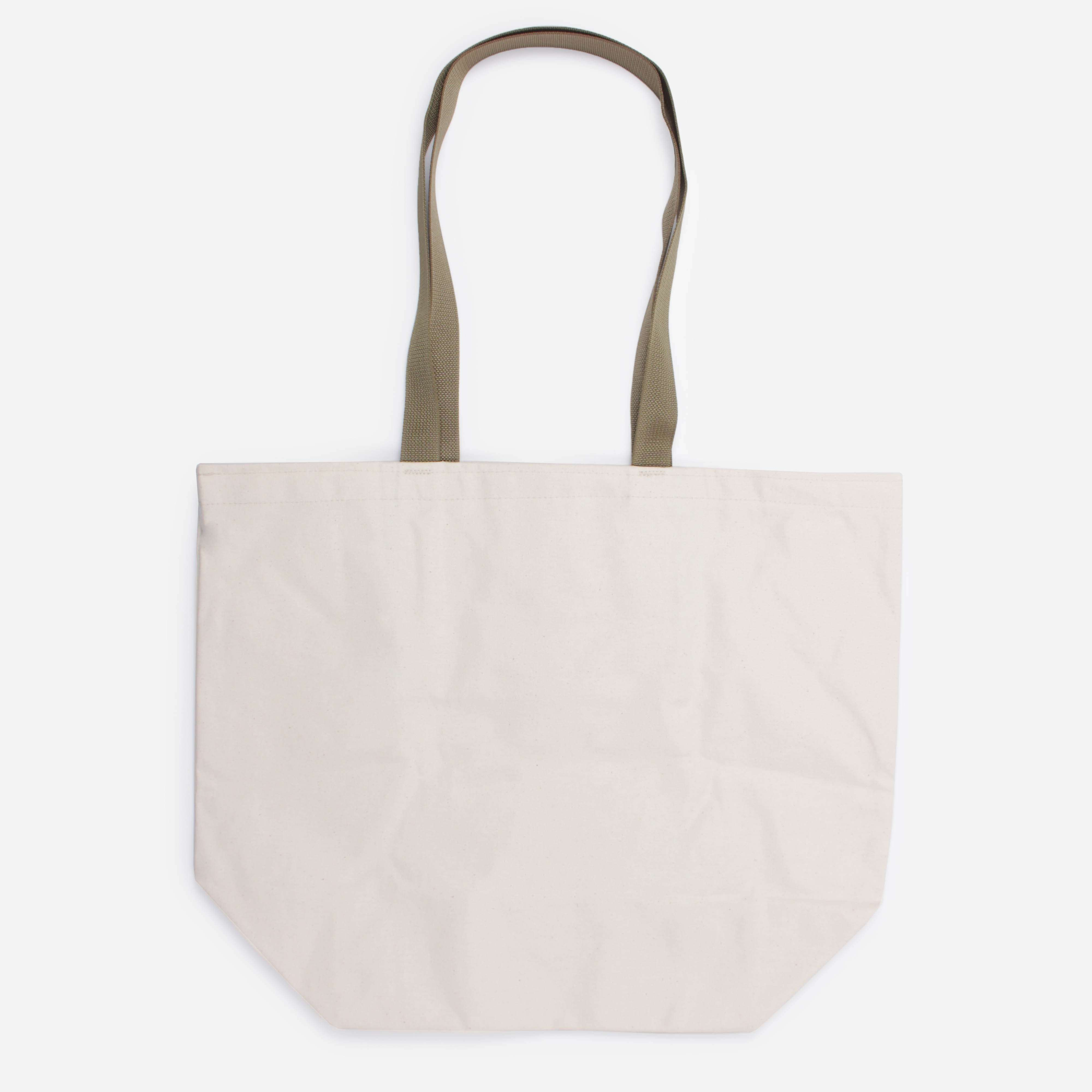 Battenwear Logo Canvas Tote Bag