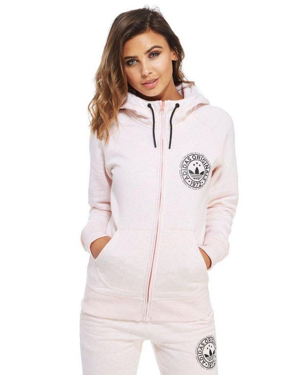adidas originals super fleece zip hoodie