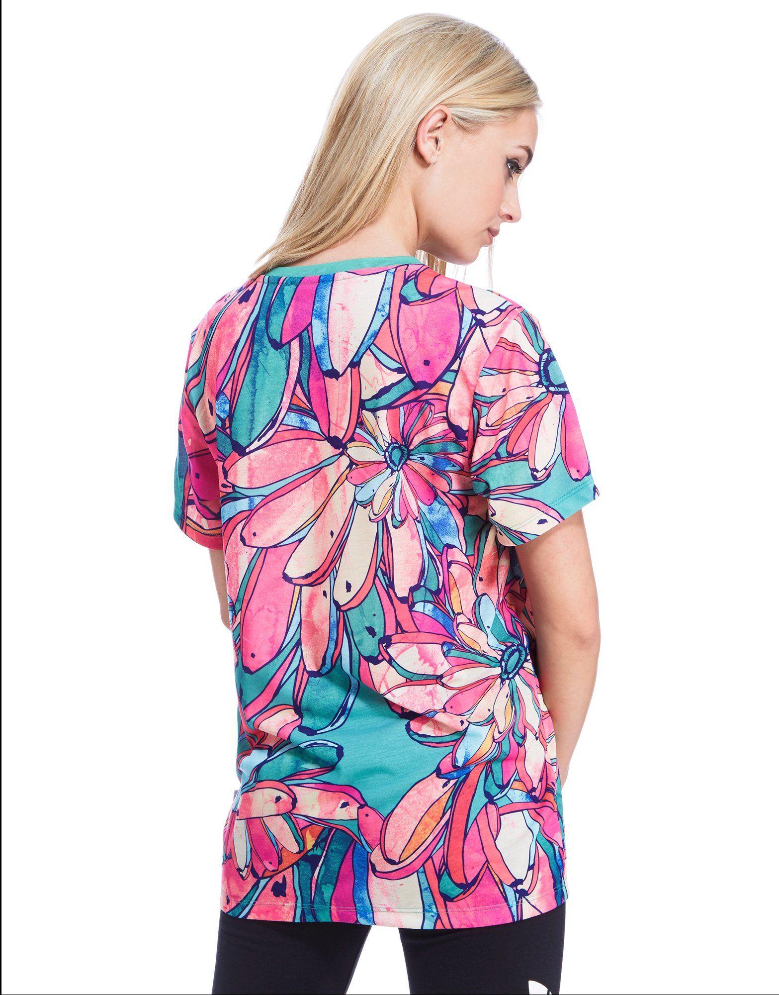 adidas Originals Farm Bananas Boyfriend T-Shirt