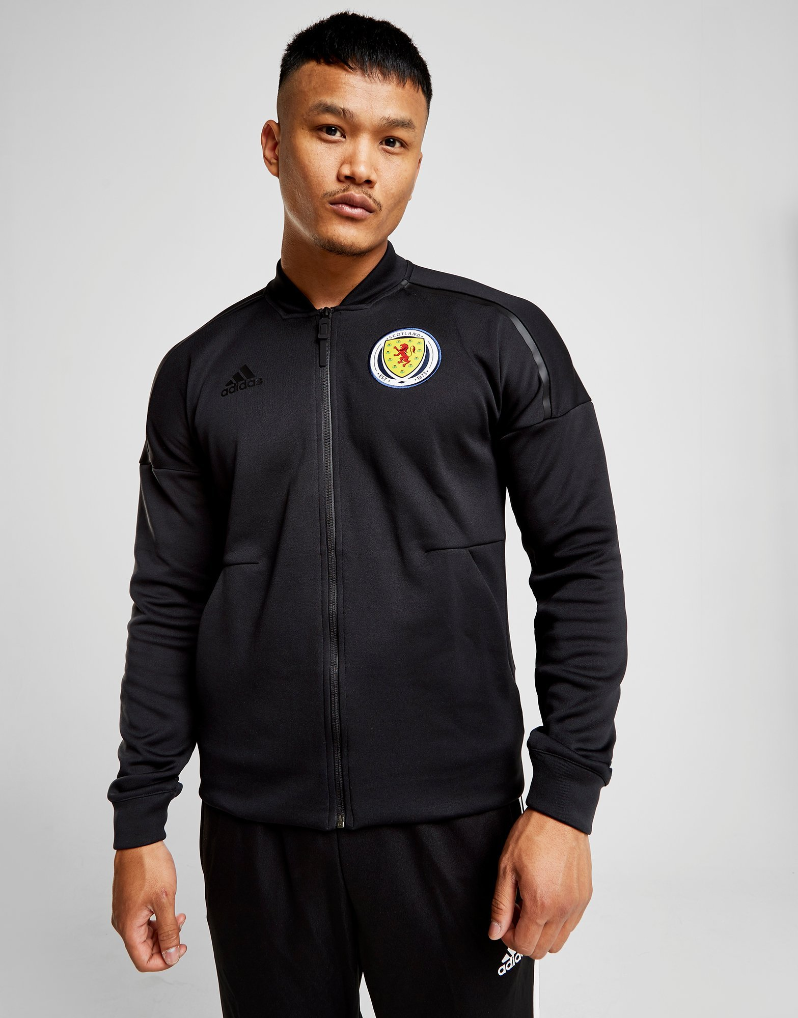 adidas Scotland 2018/19 Anthem Jacket