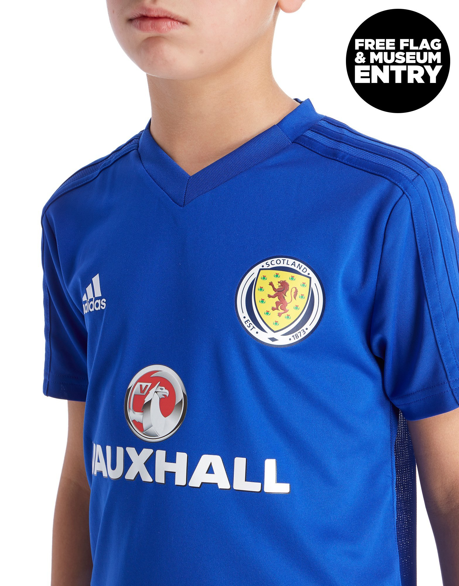 adidas Scotland FA 2018/19 Training Shirt Junior