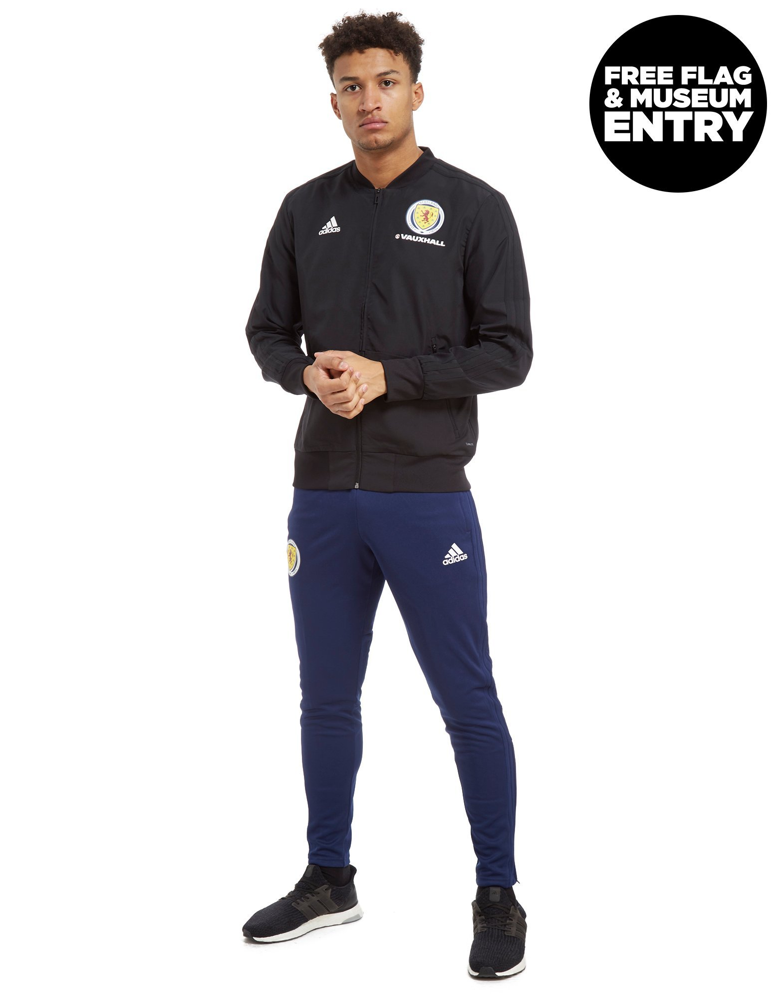 adidas Scotland FA 2018/19 Presentation Jacket