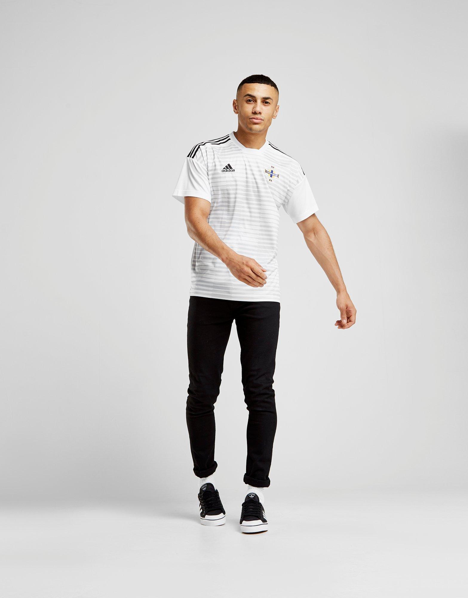 adidas Northern Ireland 2018/19 Pre-Match Shirt