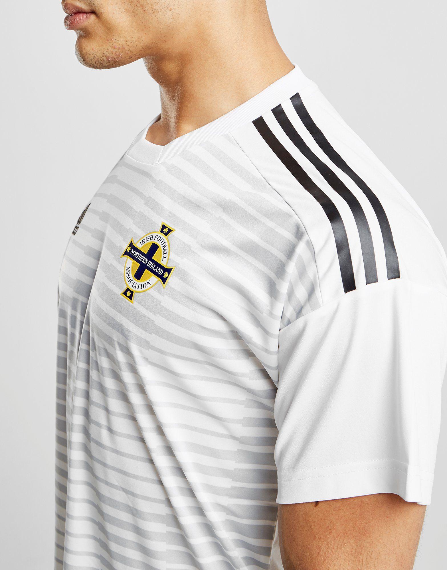 Ireland Pre Match adidas 2018 Shirt 19 Northern Weiss adidas Northern Y04wHtx