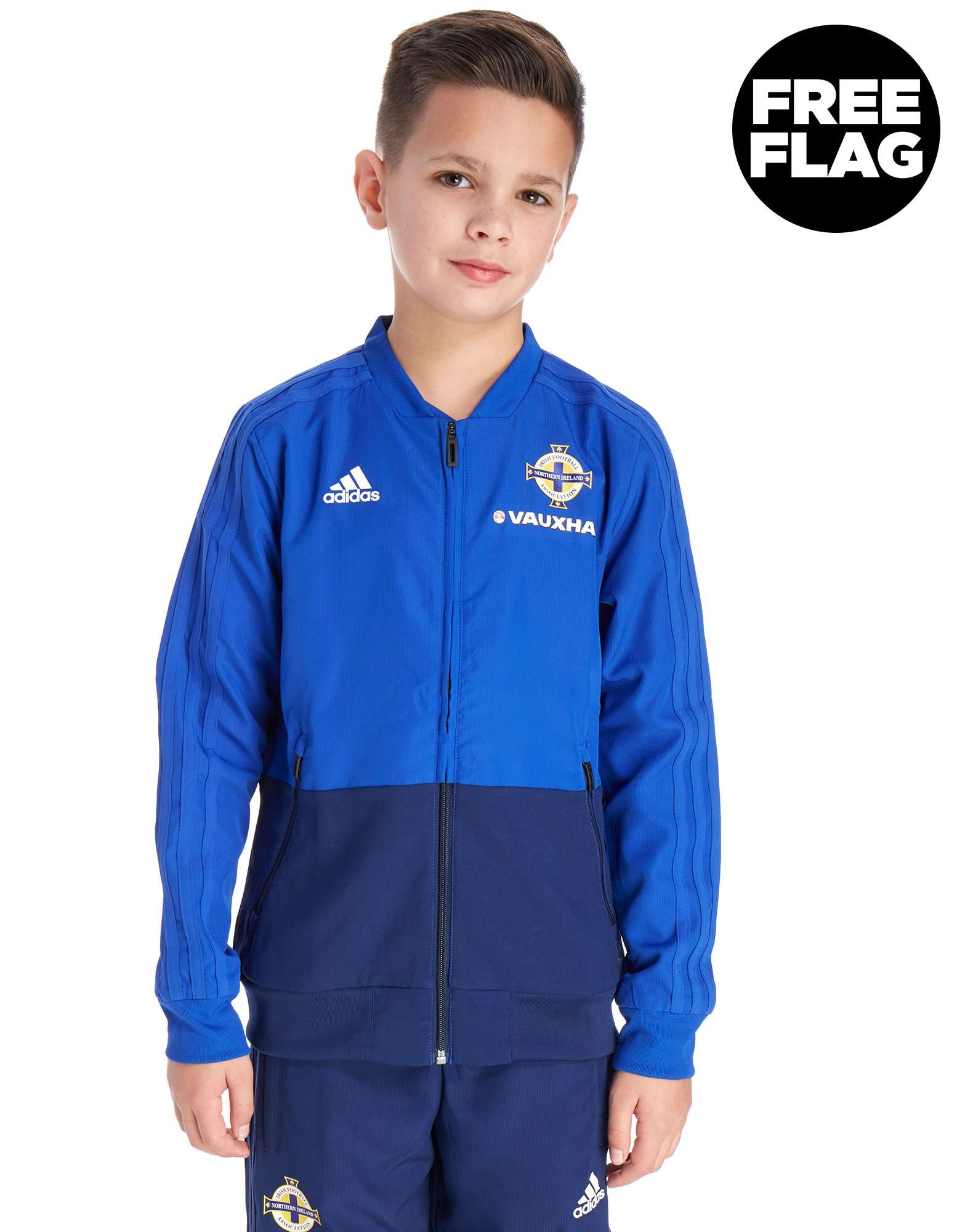 adidas Northern Ireland 2018/19 Presentation Jacket Jnr