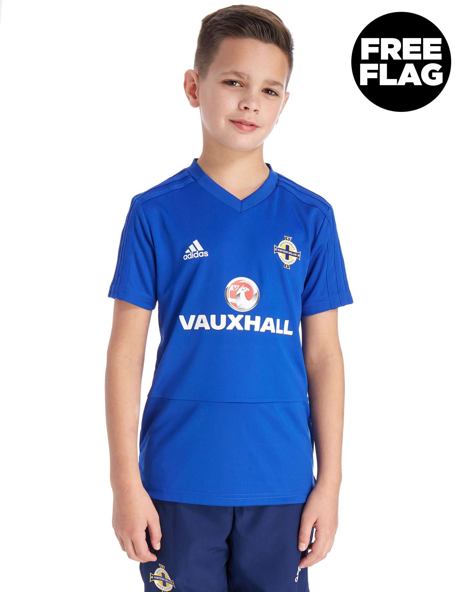 adidas Northern Ireland 2018 Training Shirt Junior