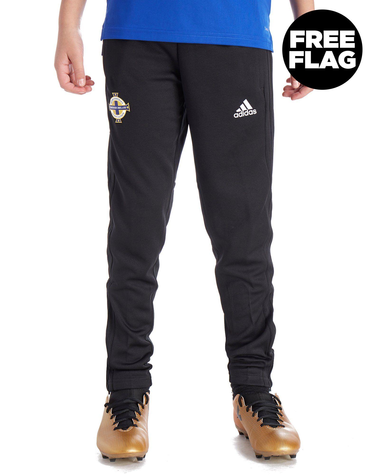 adidas pantalón de entrenamiento Irlanda del Norte FA 2018 júnior