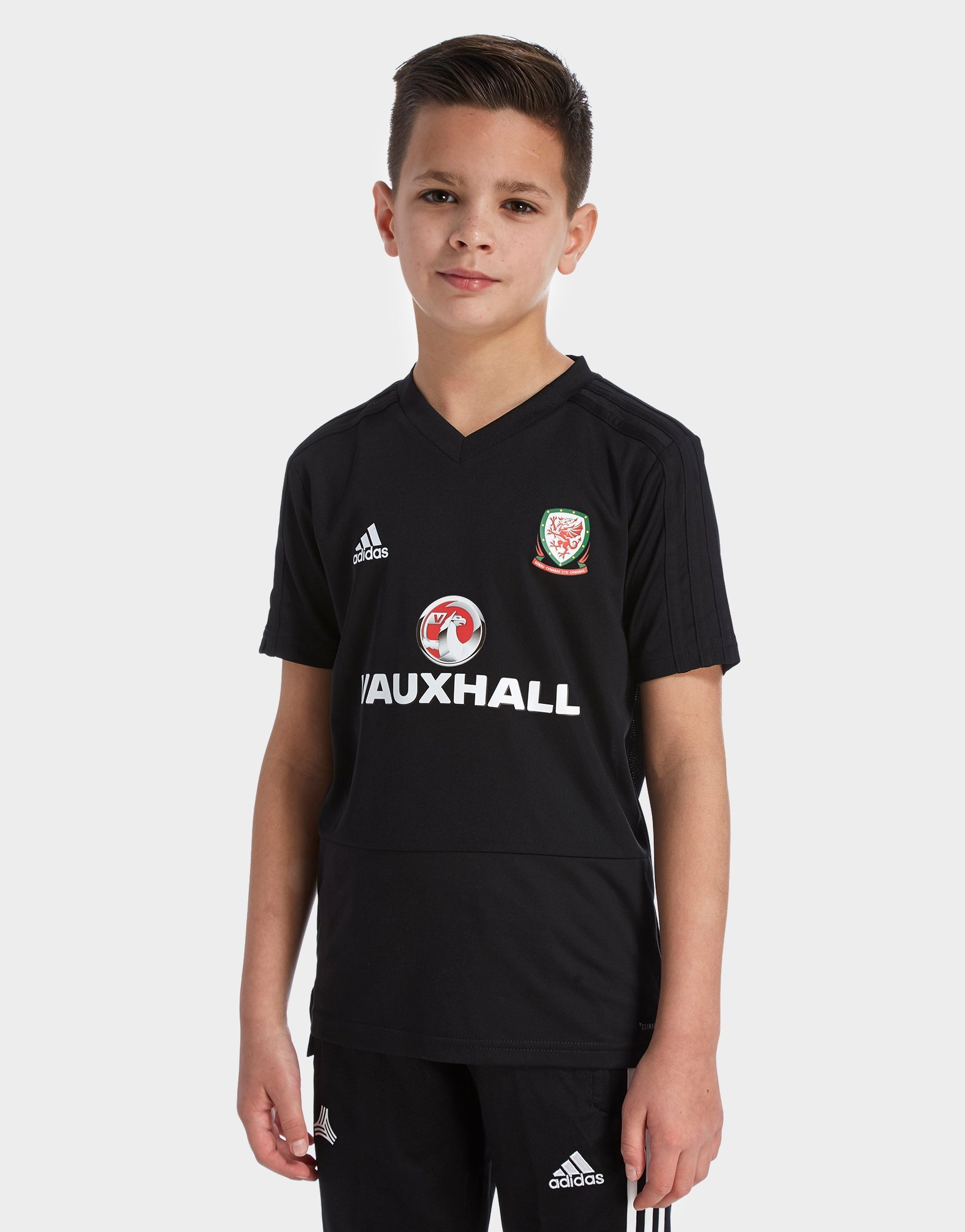 adidas FA Wales 2018/19 Training Shirt Junior