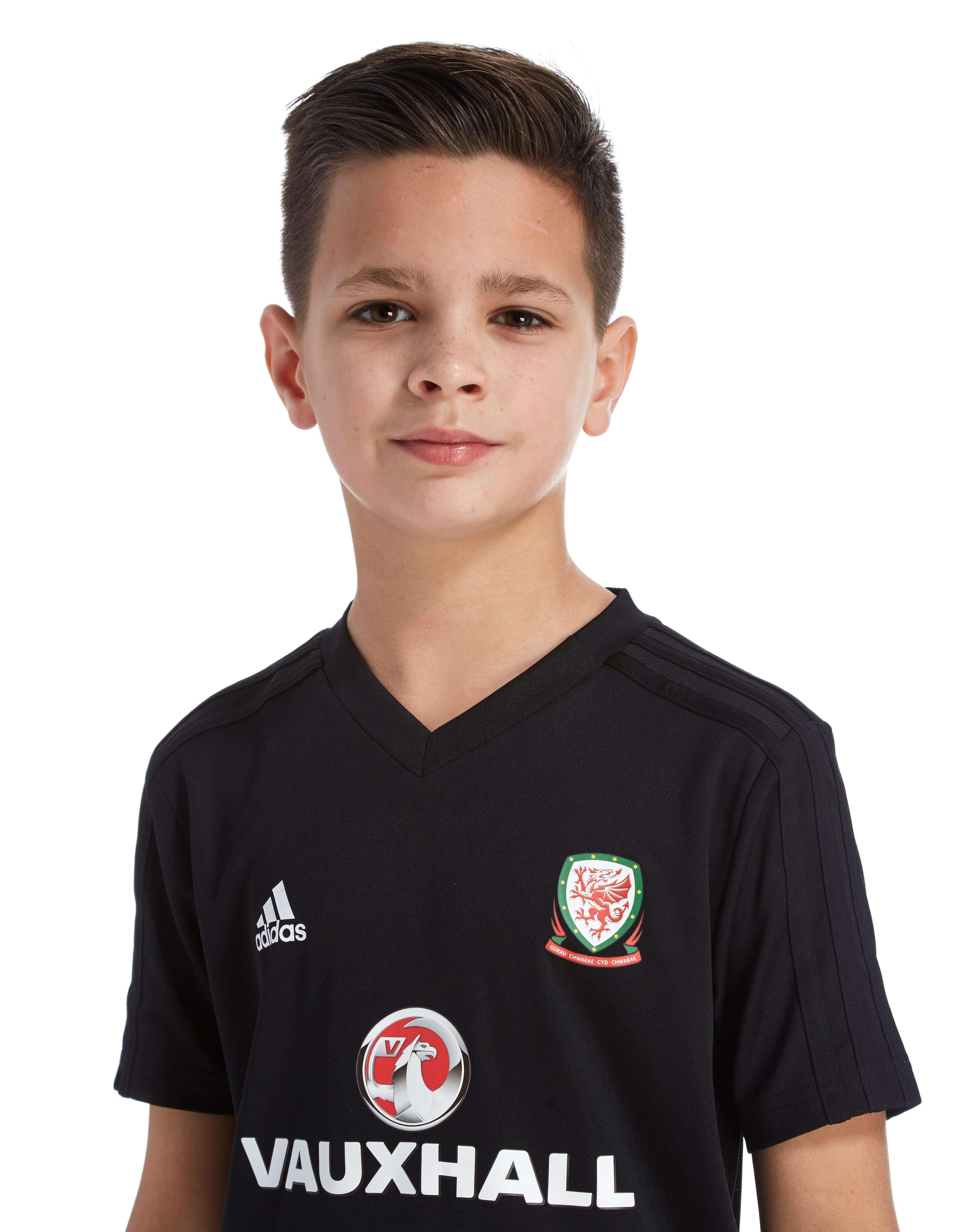 adidas FA Wales 2018/19 Training Shirt Junior
