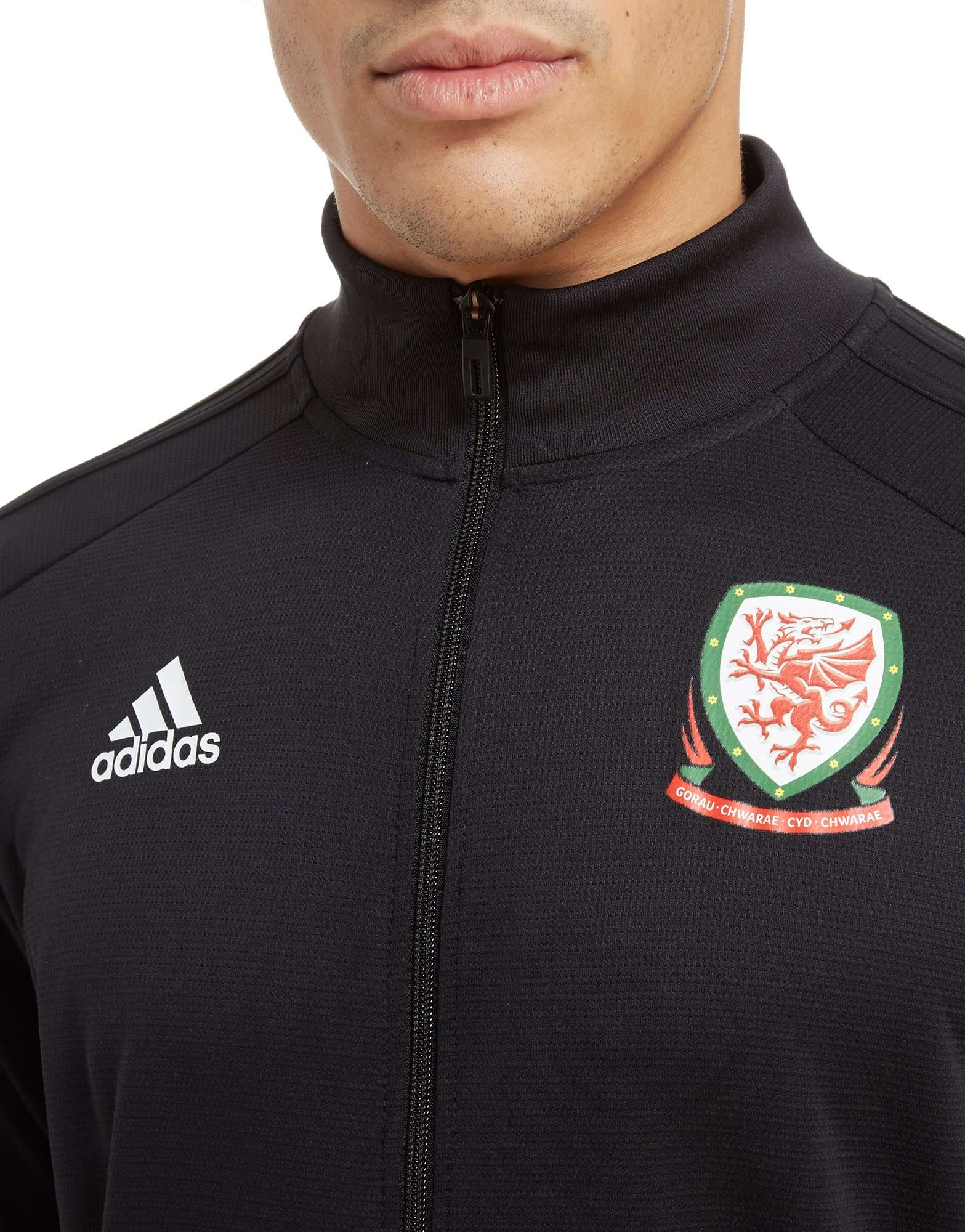 adidas FA Wales 2018/19 Full Zip Track Top