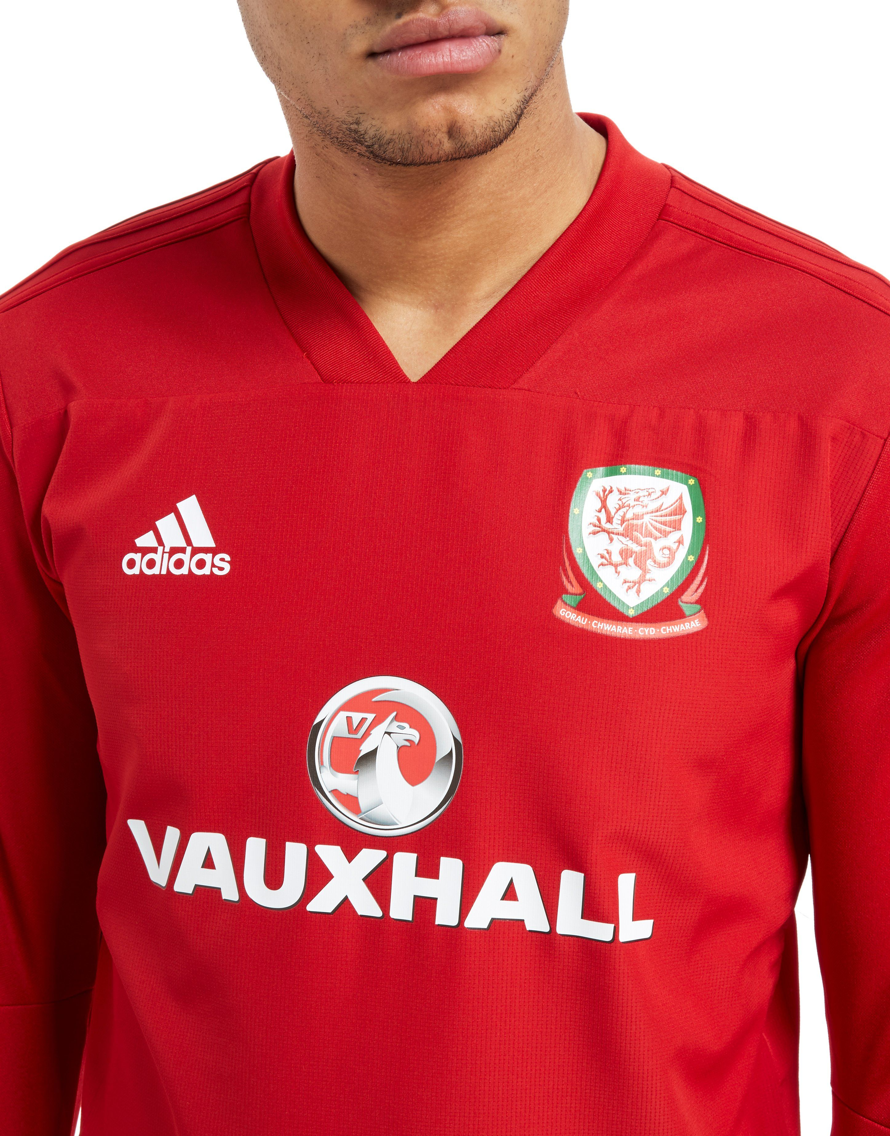 adidas Wales FA Top adidas 2018 Rot FA Training 19 Wales qaEnxwICxT