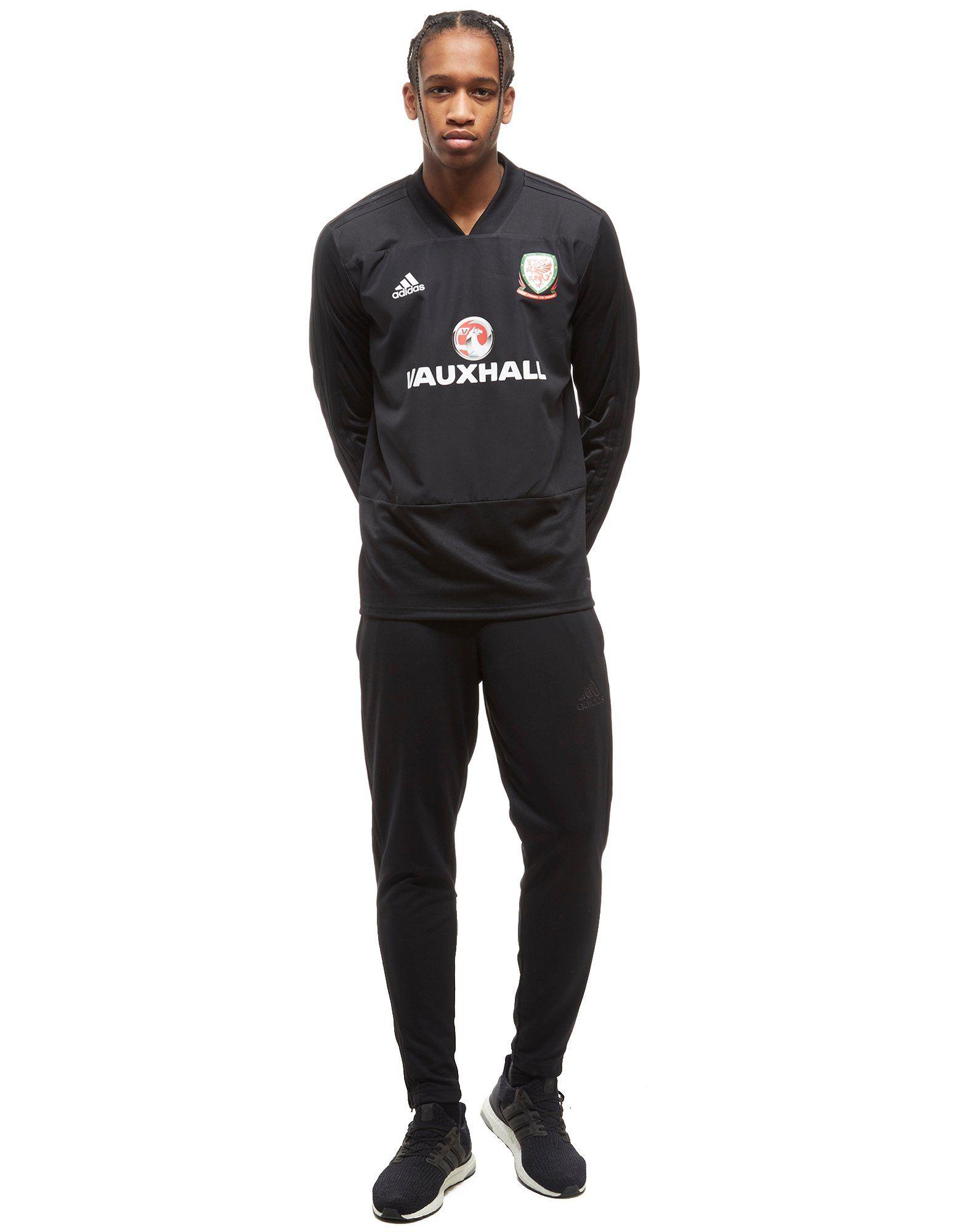 Spielraum Lohn Mit Paypal Echt Günstig Online adidas FA Wales 2018 Training Top Schwarz Erhalten Authentisch Freies Verschiffen Nicekicks Kauf Zum Verkauf eaAaFmdV