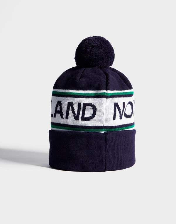 c11b9b9a6eac9f ... france official team northern ireland text knitted bobble hat 4bea5  14e0d coupon ...