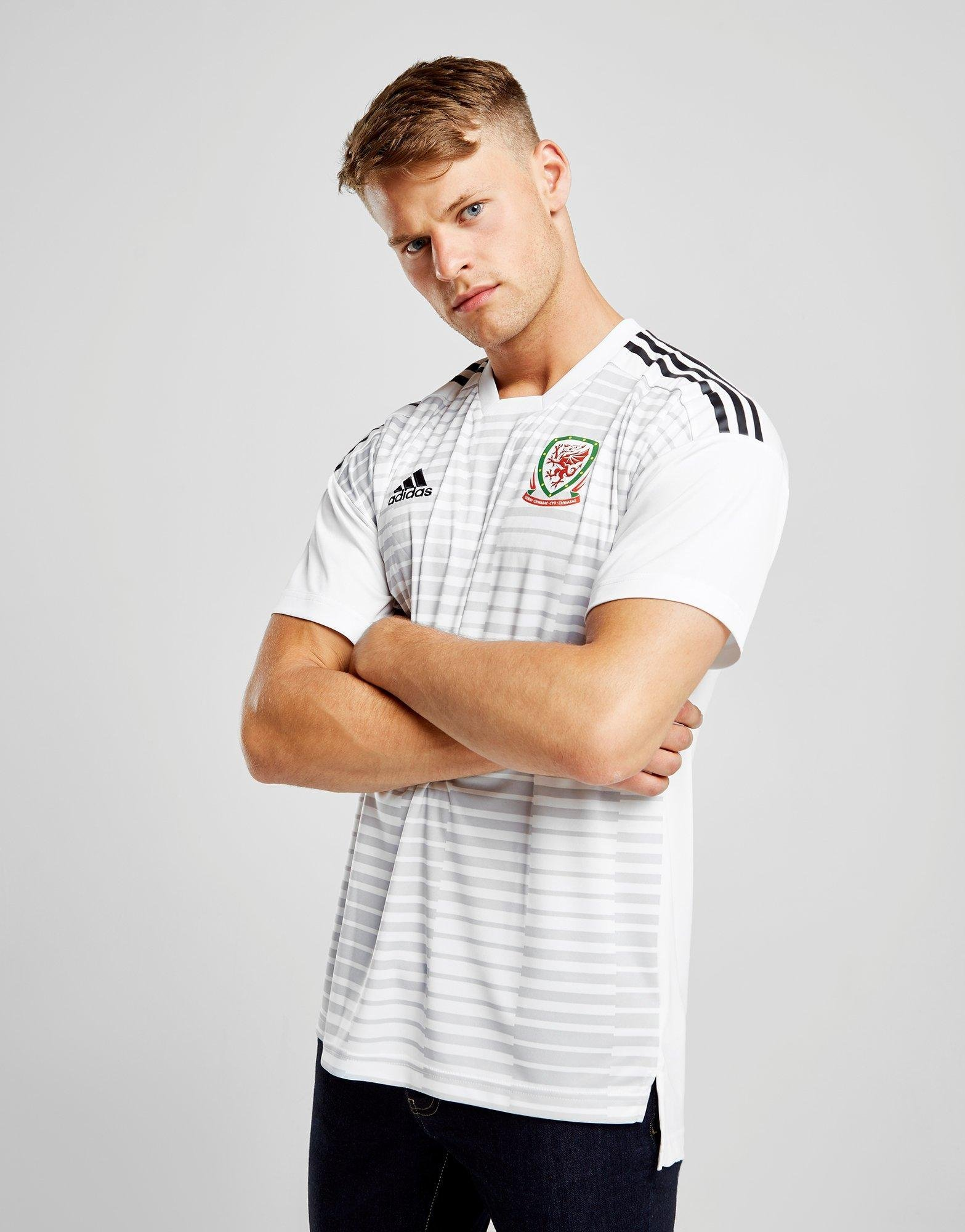 adidas Wales 2018/19 Pre Match Top