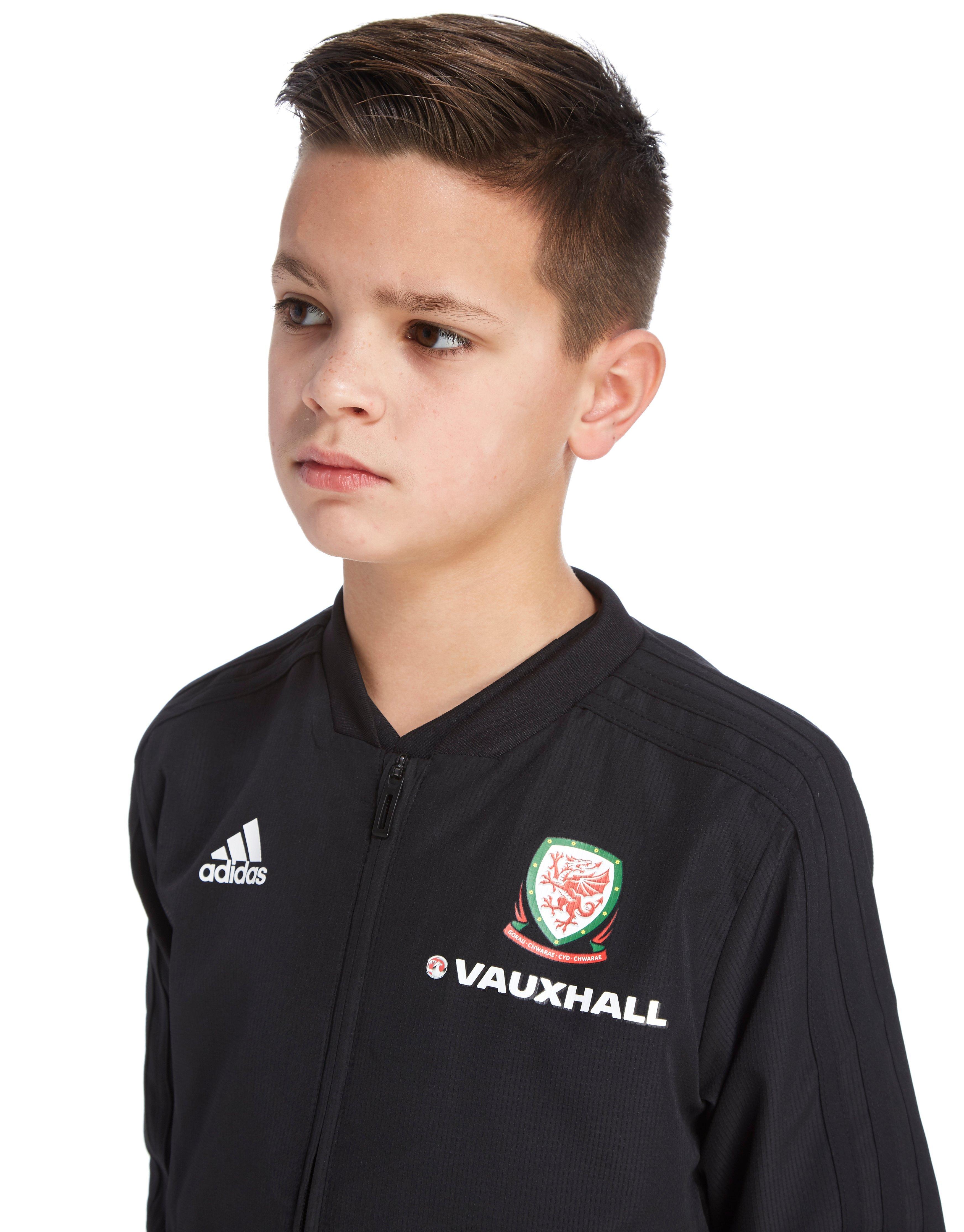 adidas FA Wales 2018/19 Presentation Jacket Junior