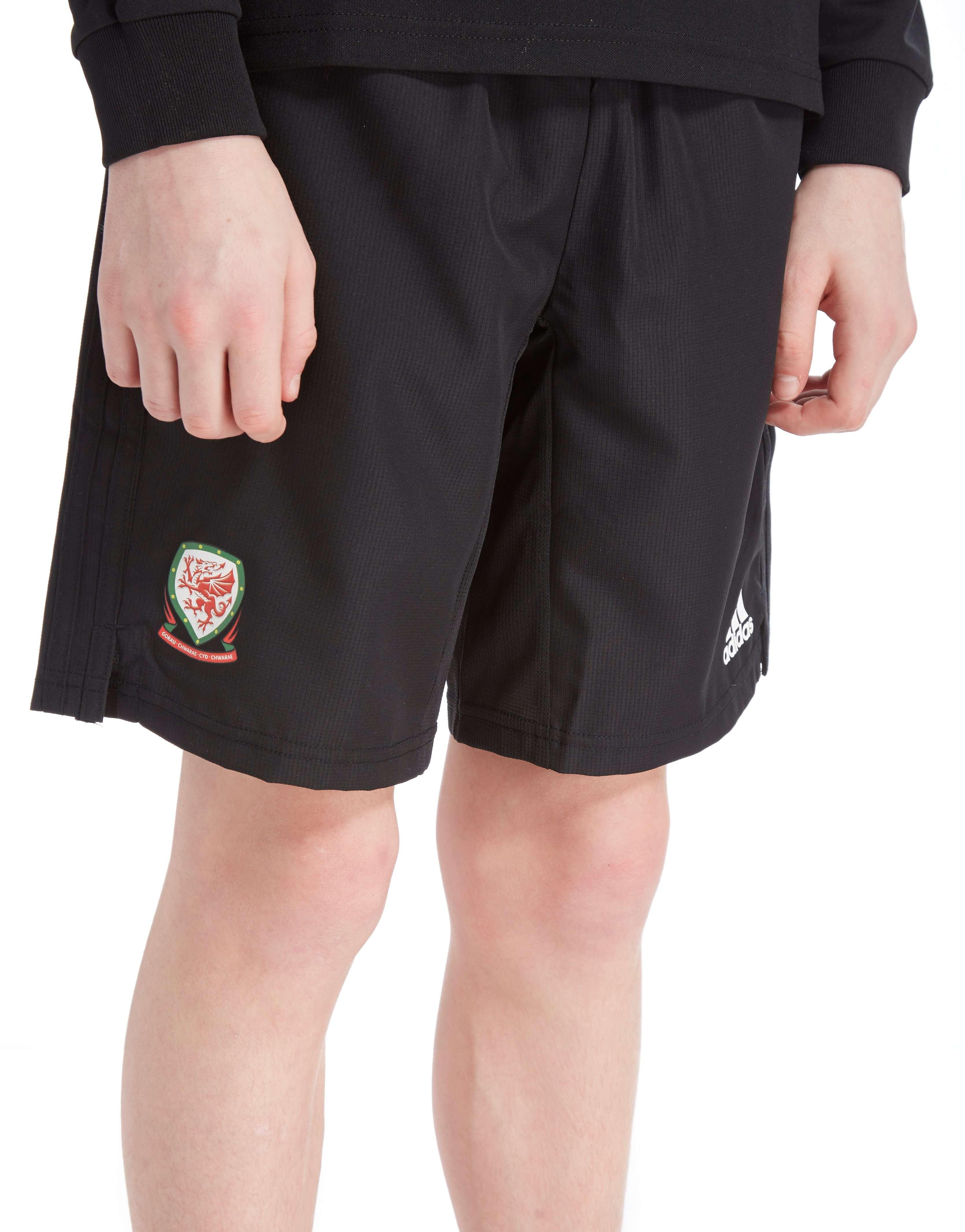 adidas FA Wales 2018/19 Woven Shorts Junior