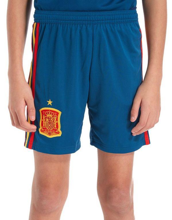 adidas Spain 2017/18 Home Shorts Junior