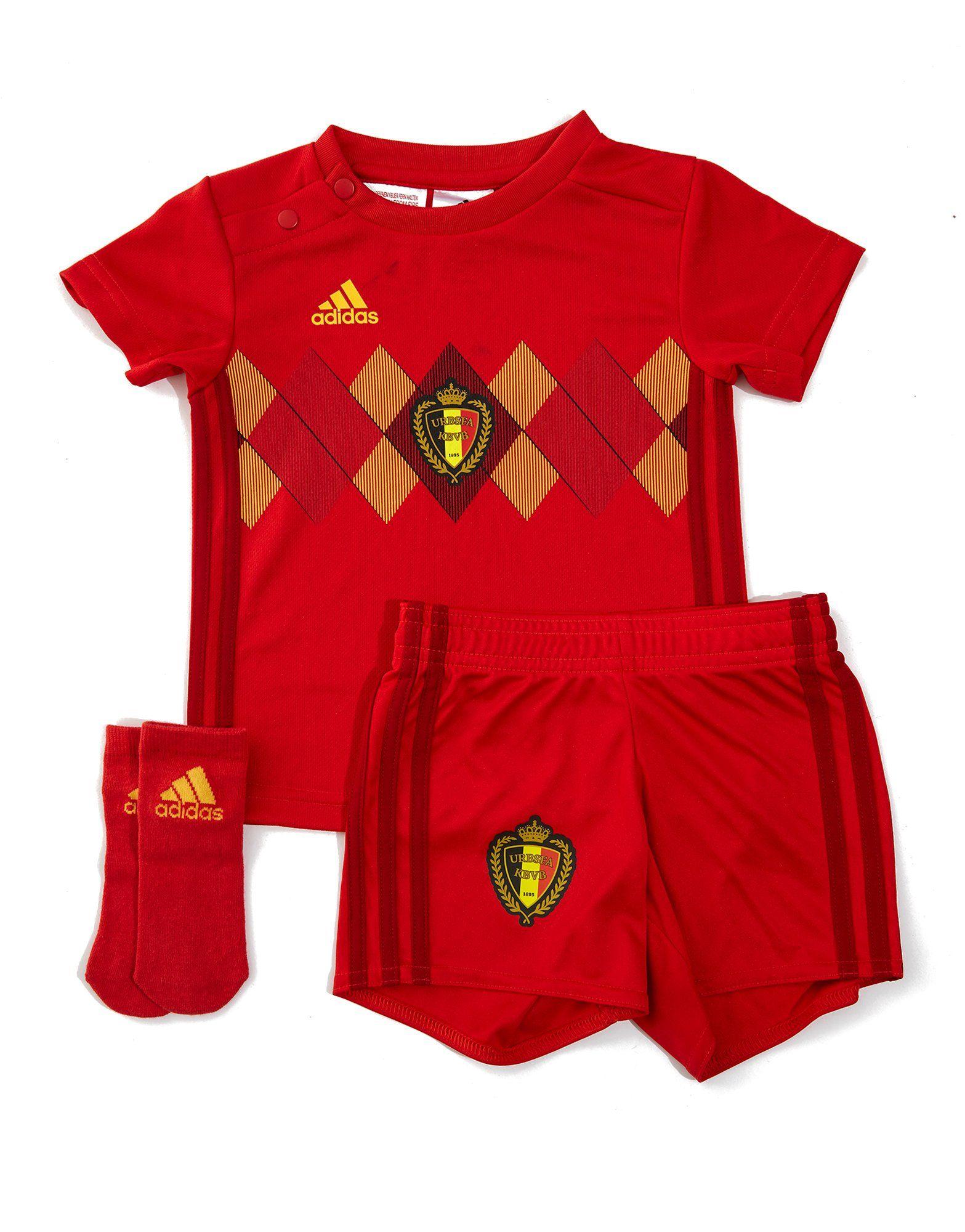 adidas Belgium 2018 Home Kit Infant ... 0f5179095
